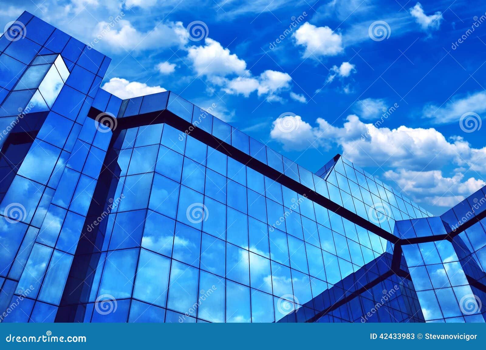 Edificio corporativo de la oficina de negocios