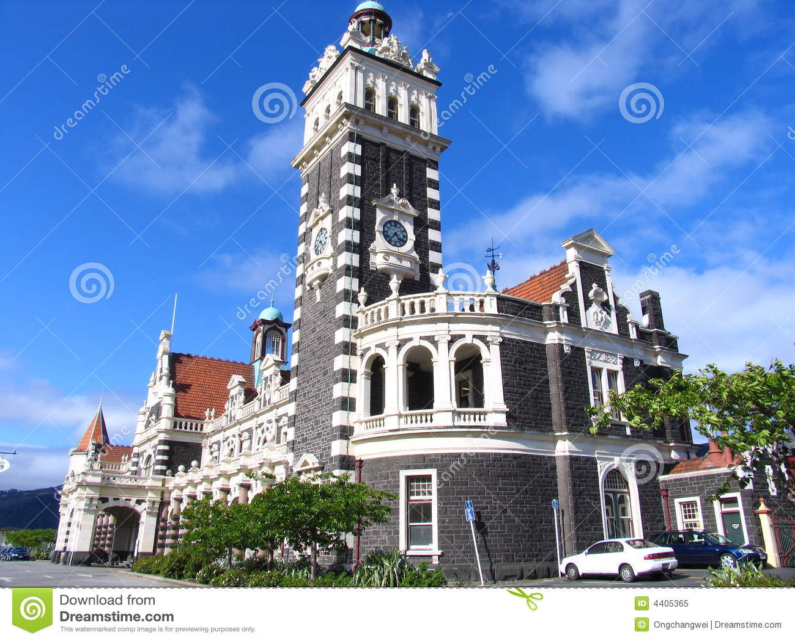 Edificio de la historia en Dunedin