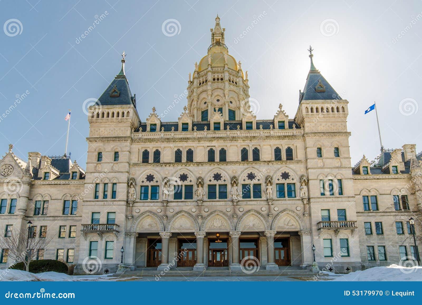 Edificio del capitolio de Hartford Connecticut