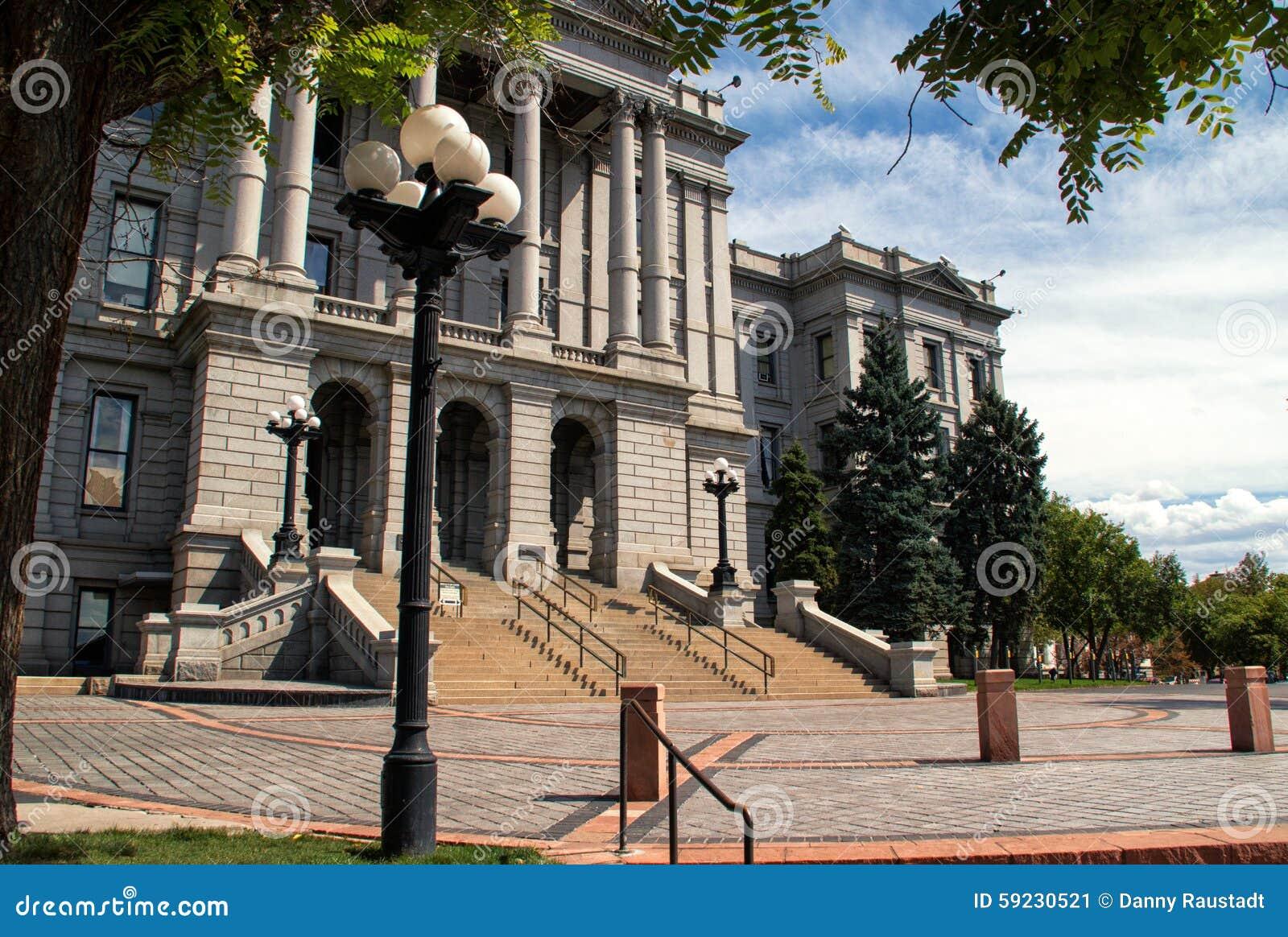 Download Edificio Del Capitolio Del Estado De Colorado En Denver Céntrica Imagen de archivo - Imagen de entrada, frente: 59230521