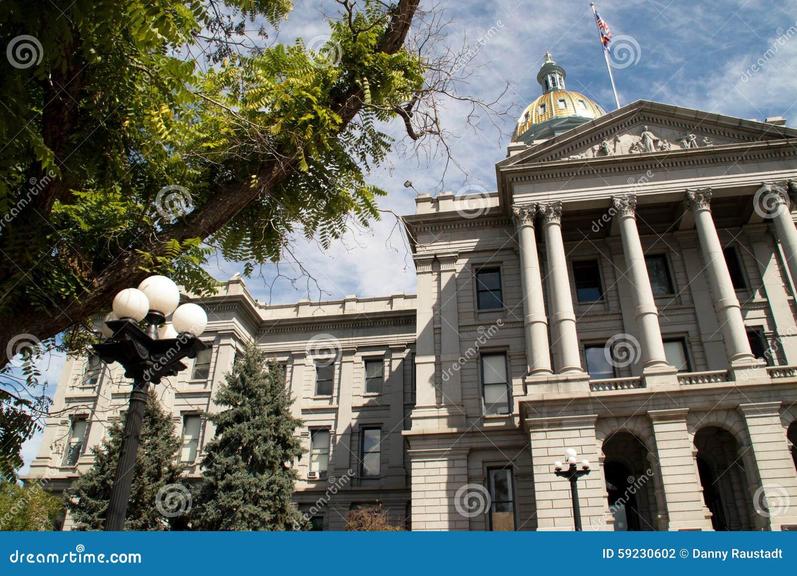 Download Edificio Del Capitolio Del Estado De Colorado En Denver Céntrica Foto de archivo - Imagen de señal, gobierne: 59230602