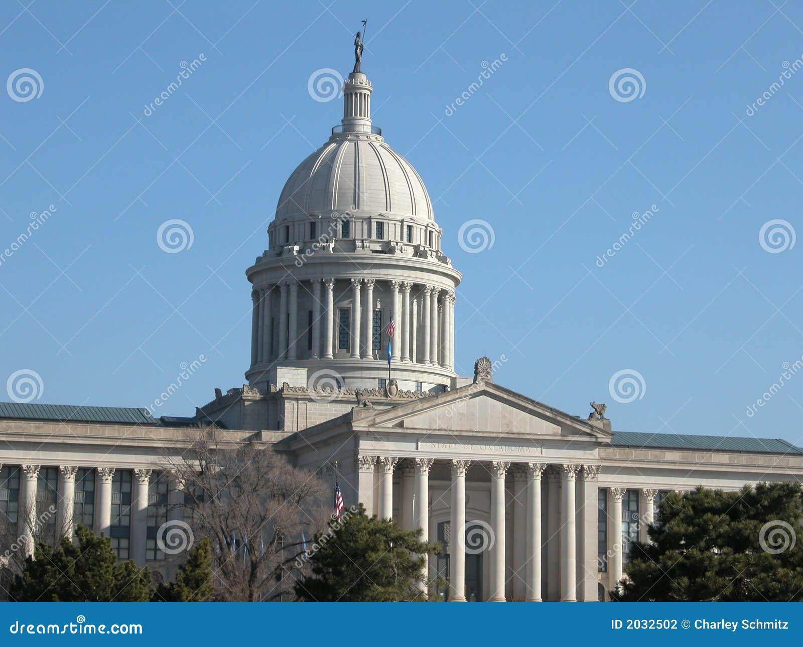 Edificio del capitolio del estado de Oklahoma