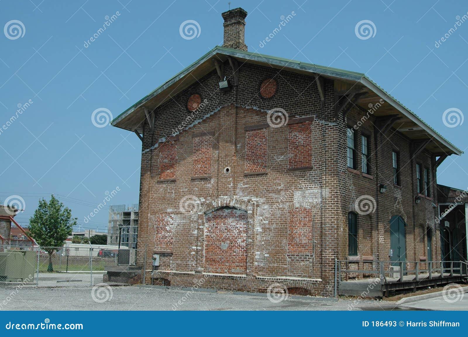 Edificio del depósito del ferrocarril