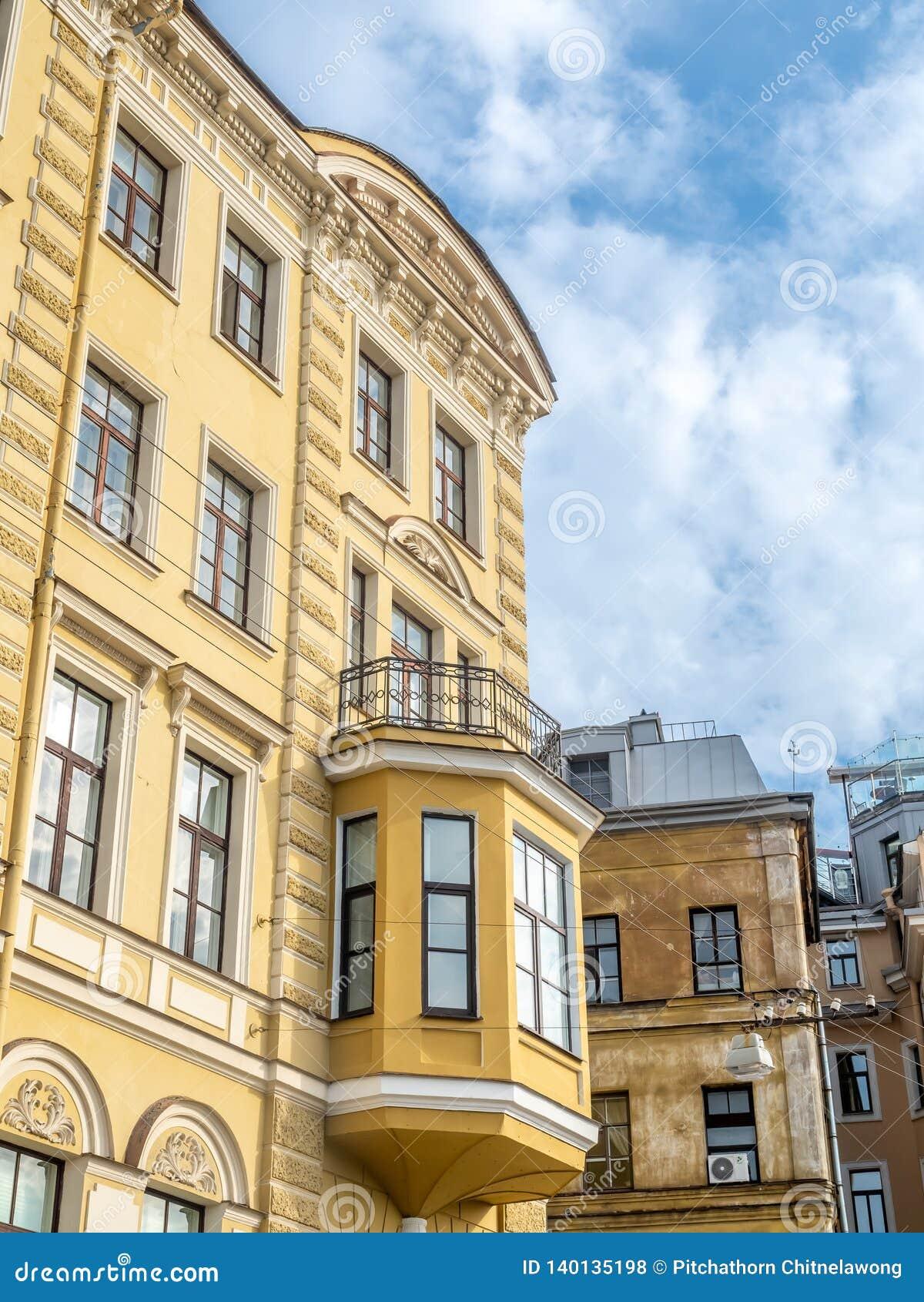 Edificio en St Petersburg, Rusia
