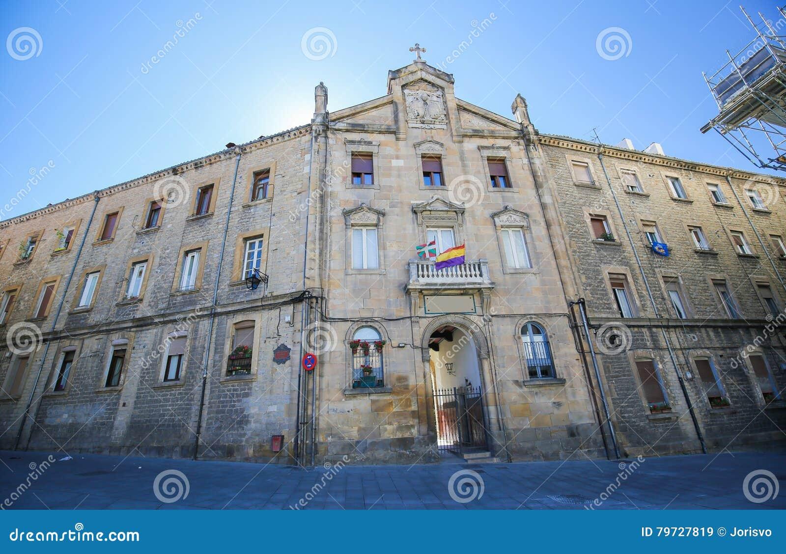 Edificio histórico en el centro de Vitoria-Gasteiz