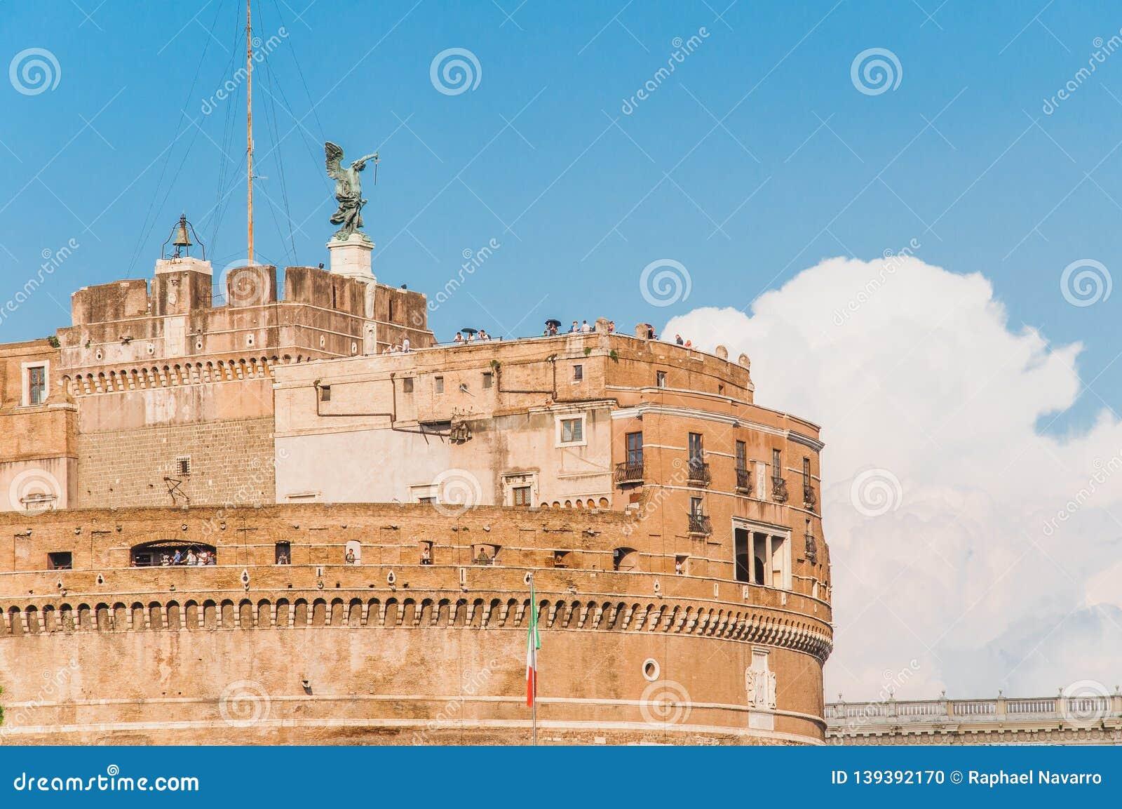 Edificio hist?rico en Roma Italia