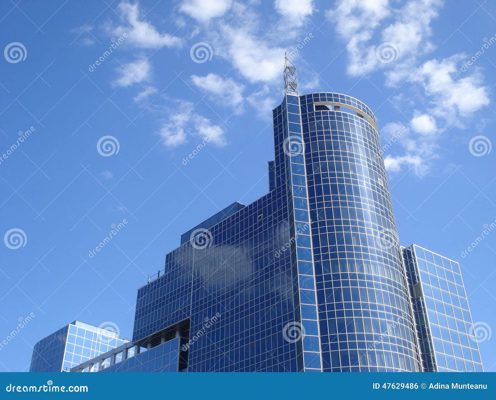 Edificio moderno de cristal