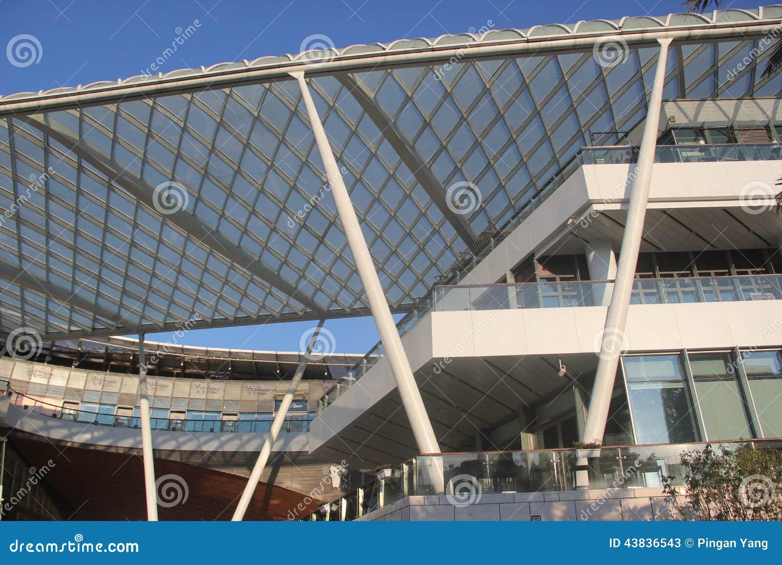 Edificio Moderno De La Estructura De Acero De ASIA CHINA SHENZHEN En ...