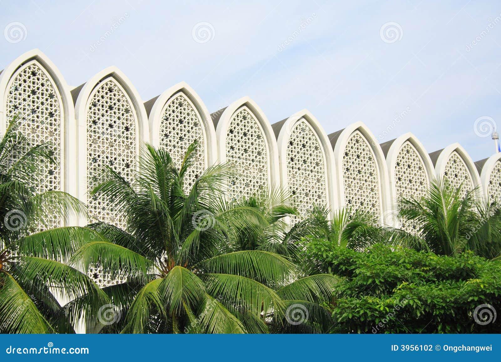 Edificio moderno del Islam