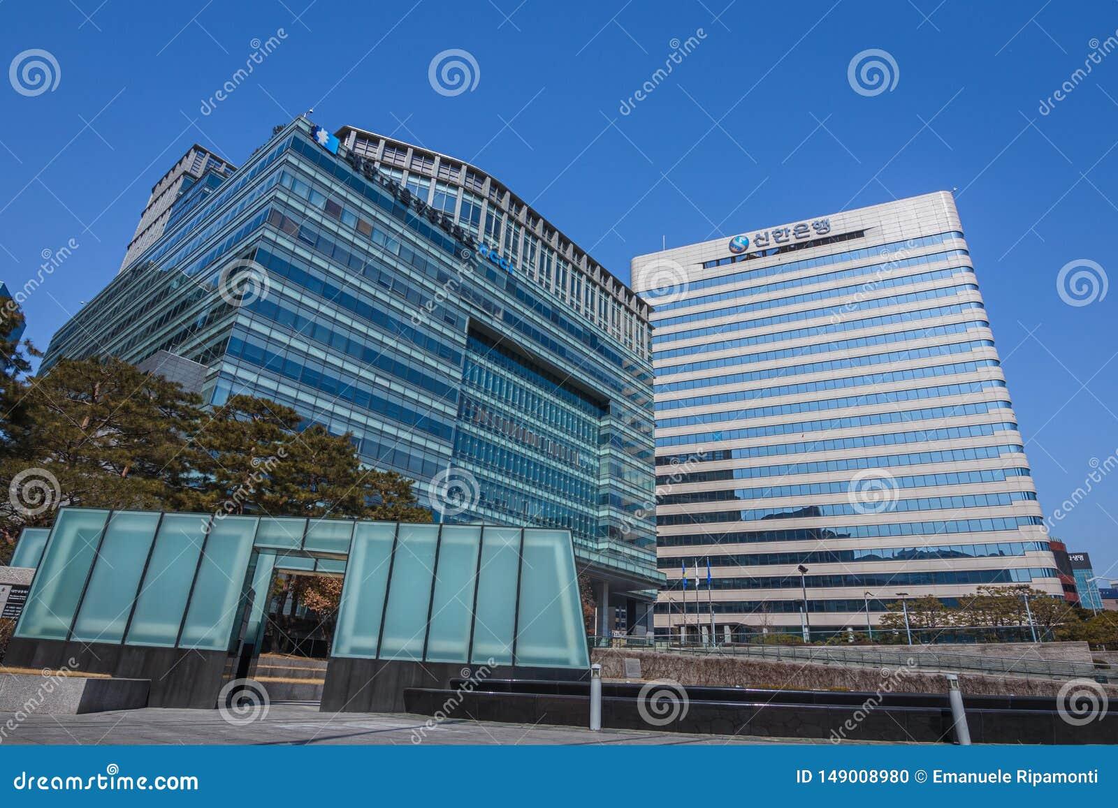Edificio per uffici a Seoul