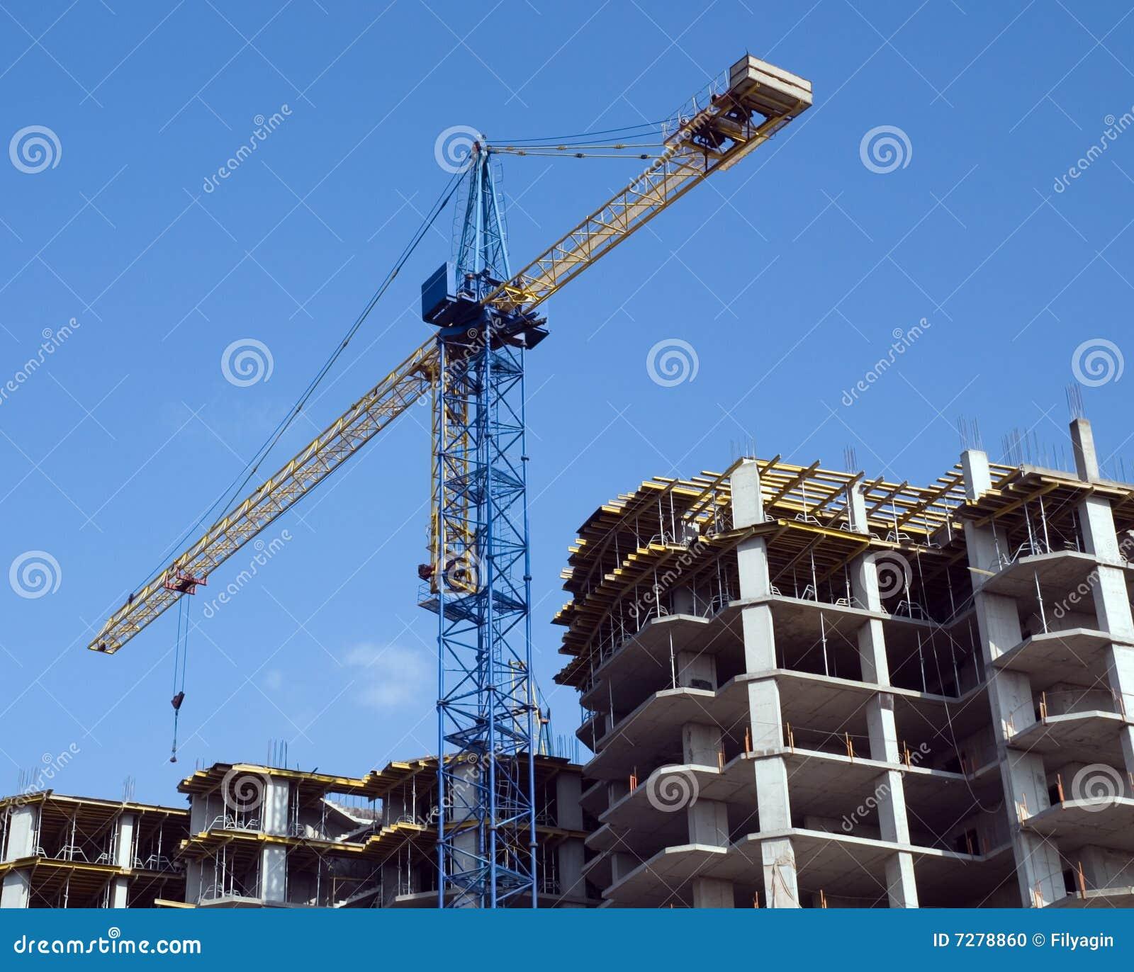 Edificio residencial bajo construcción