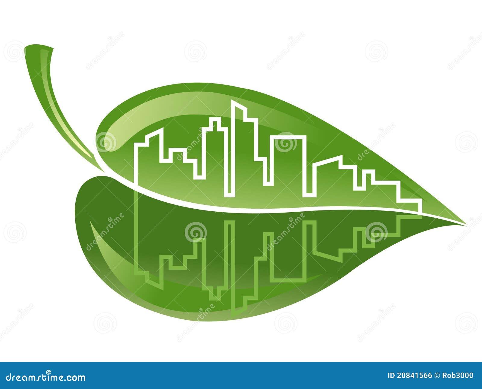 Imagenes De Edificios En Caricatura: Edificio Verde Ilustración Del Vector. Ilustración De
