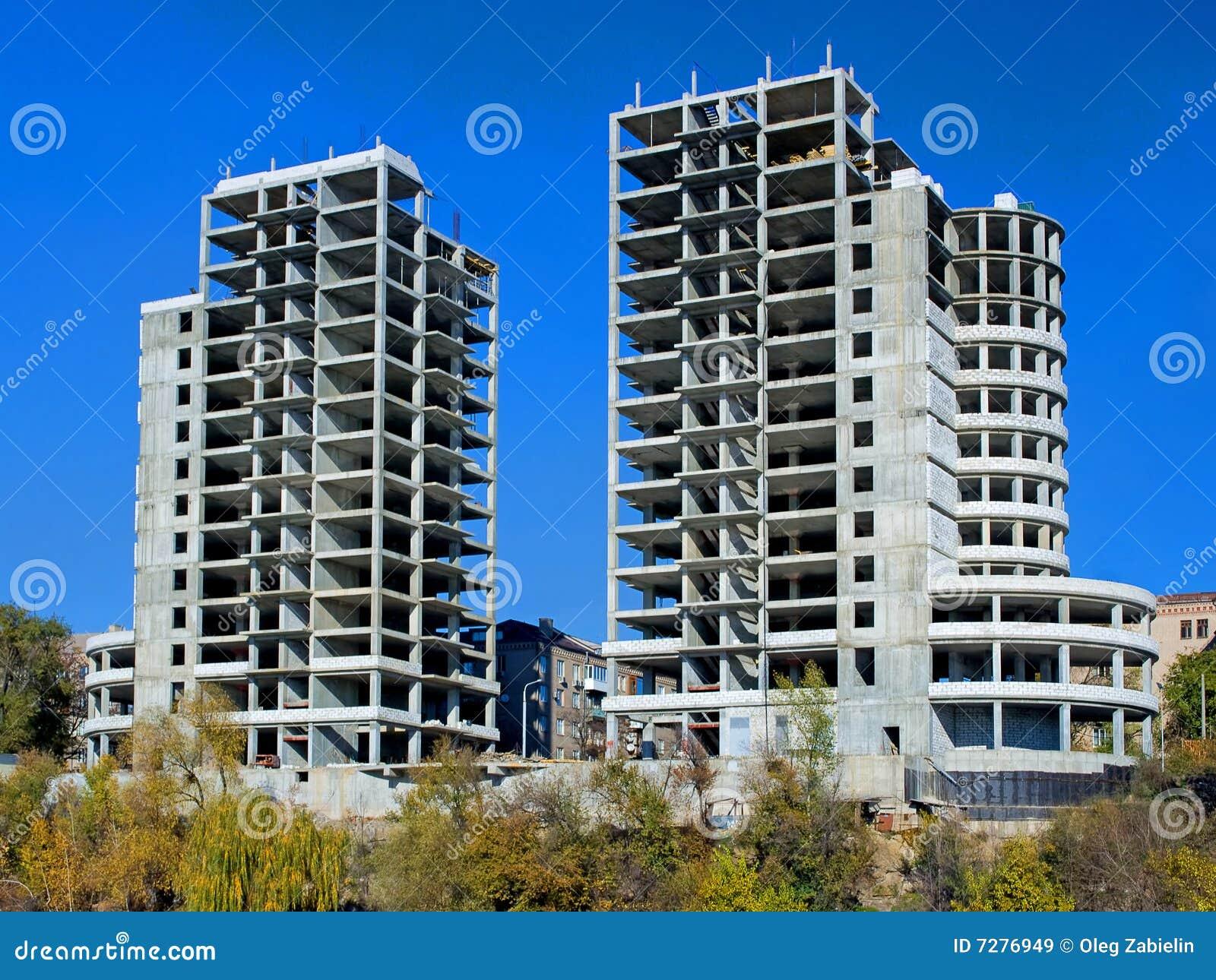 Edificios bajo construcción