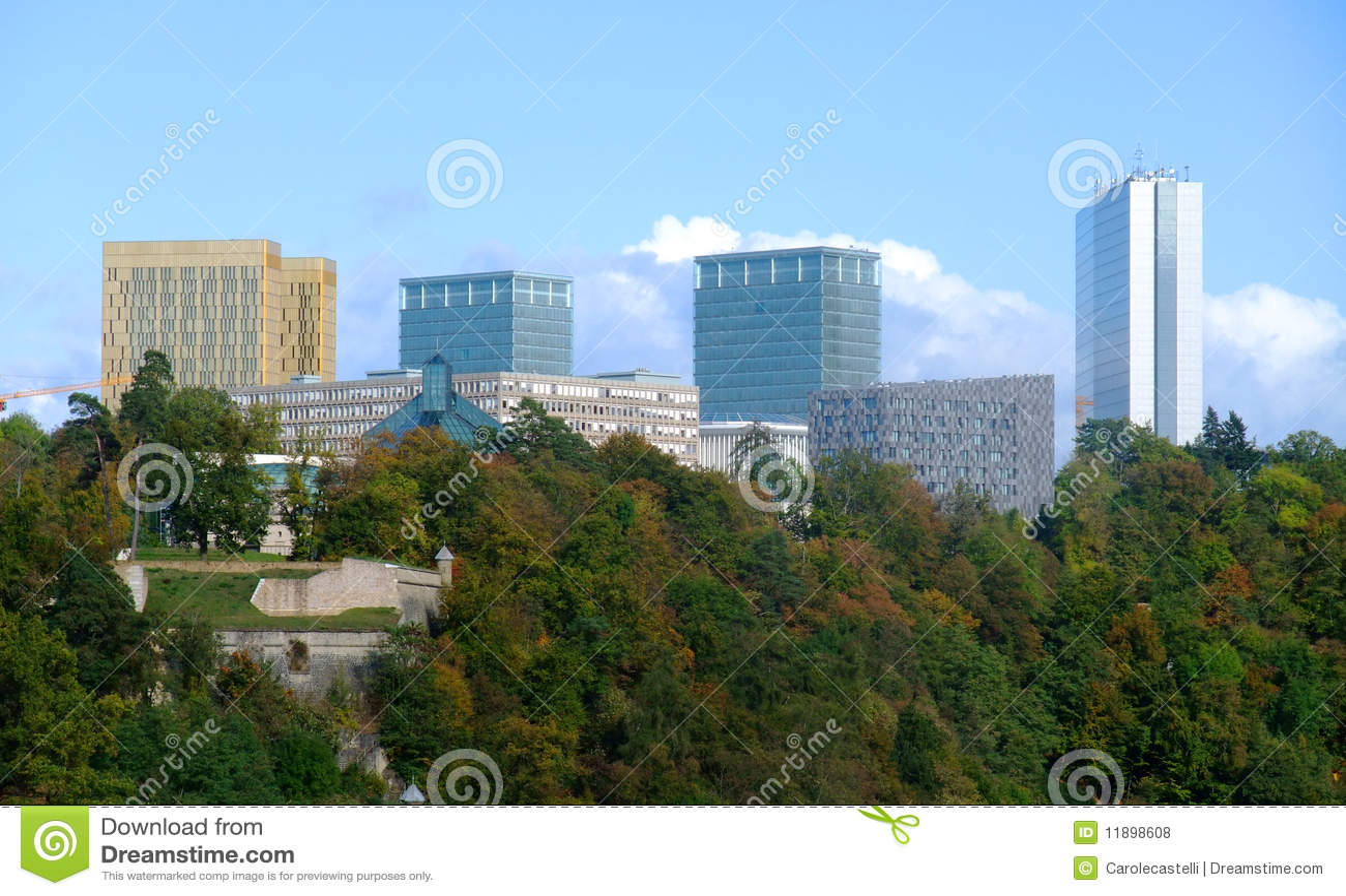 Edificios de instituciones europeos - Kirchberg