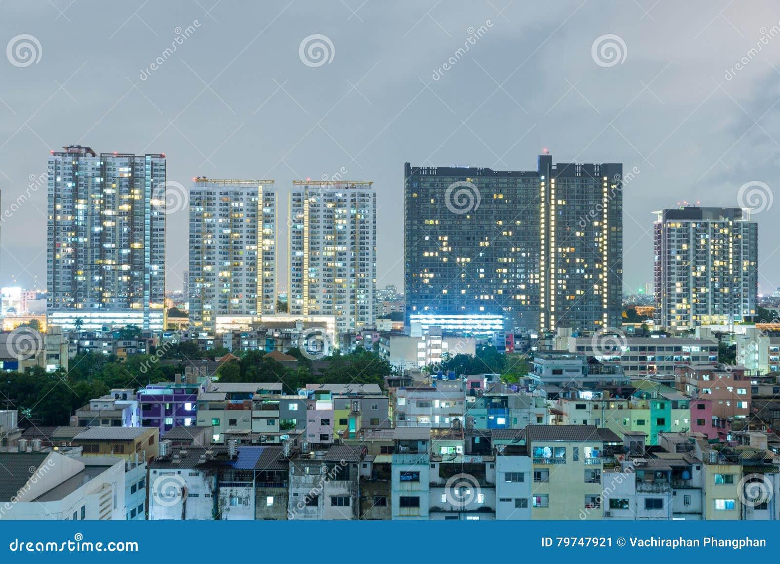Edificios en Bangkok