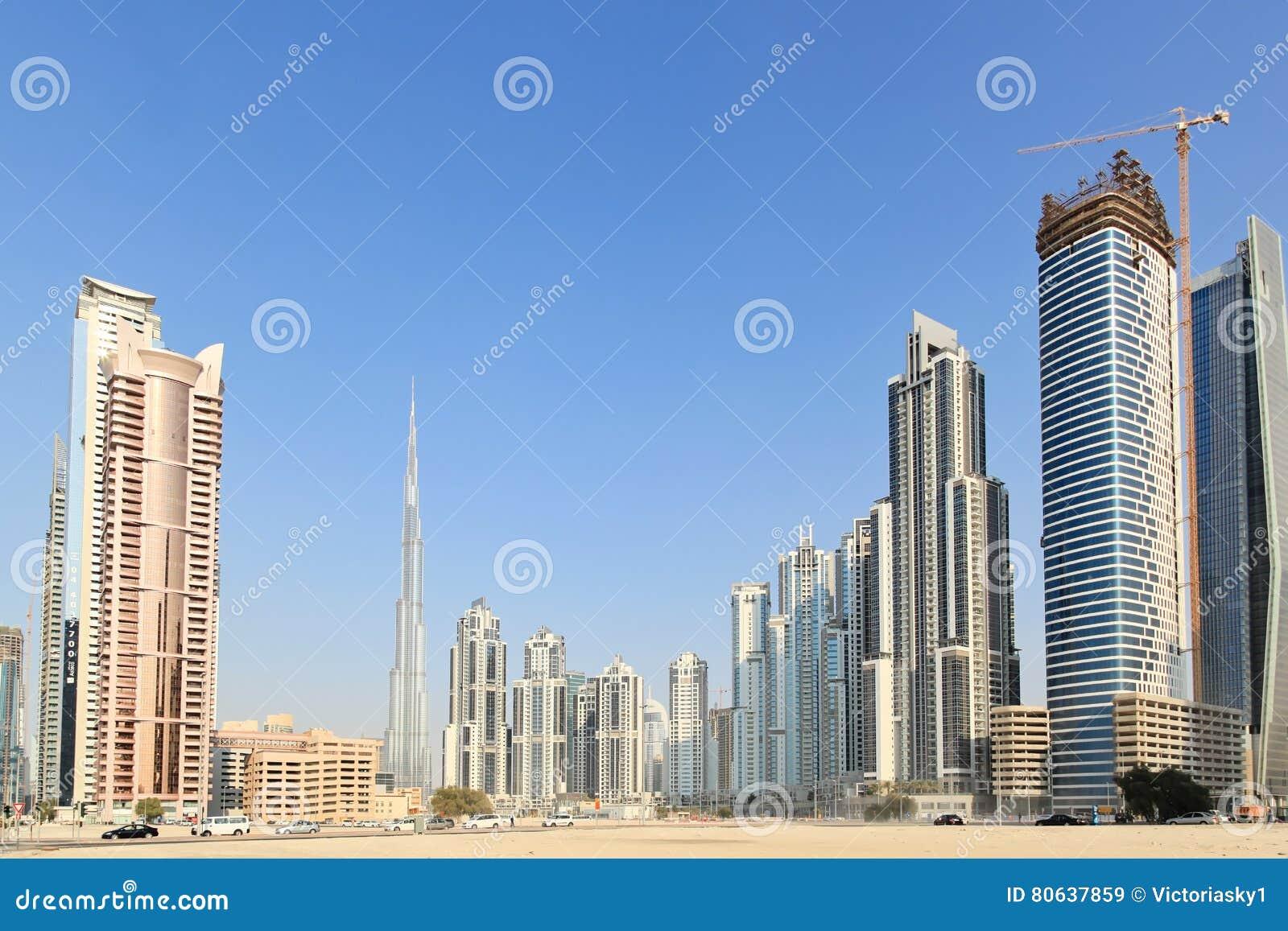 edificios en dubai cntrico burj khalifa