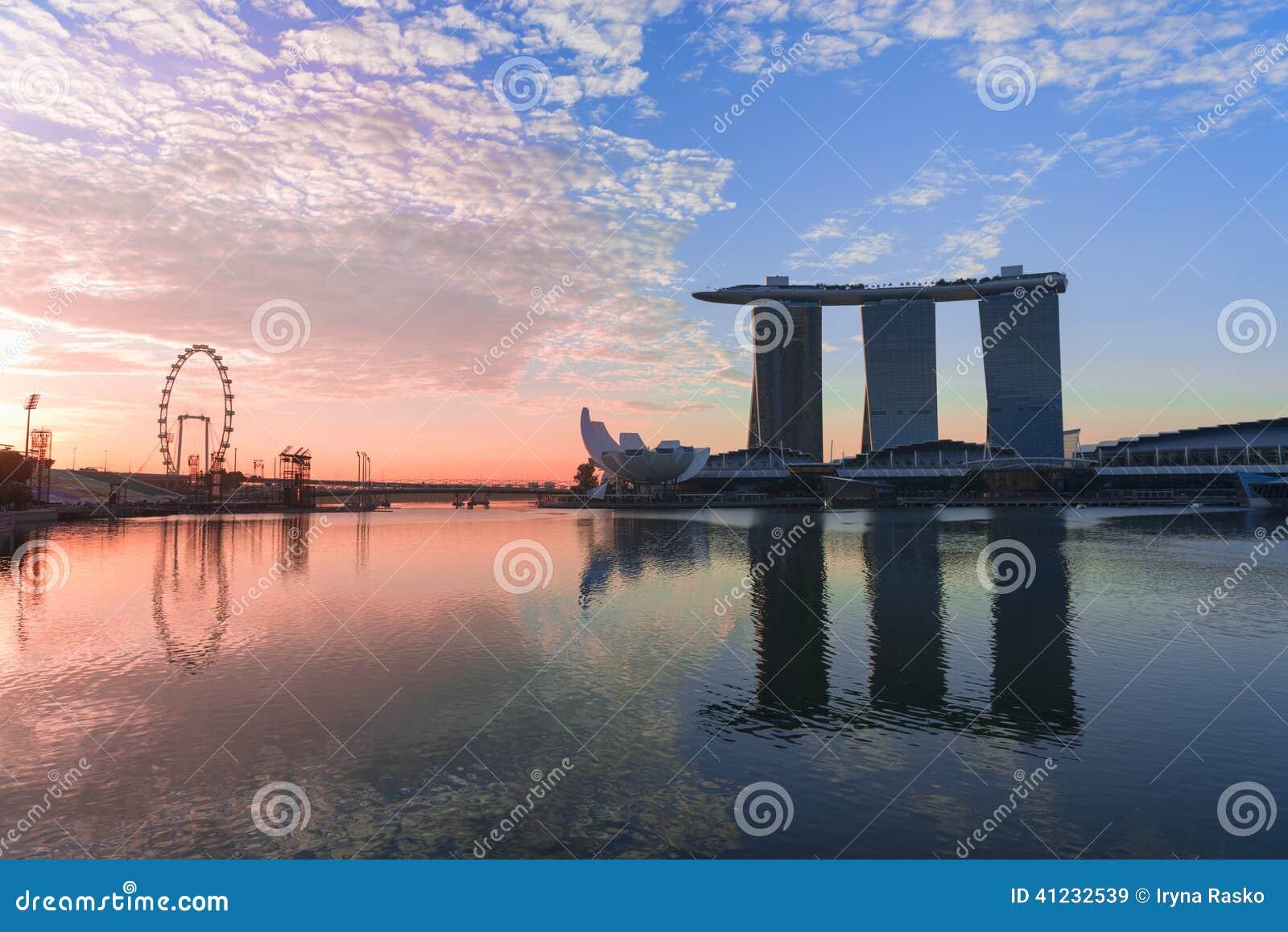 horizonte marina singapur