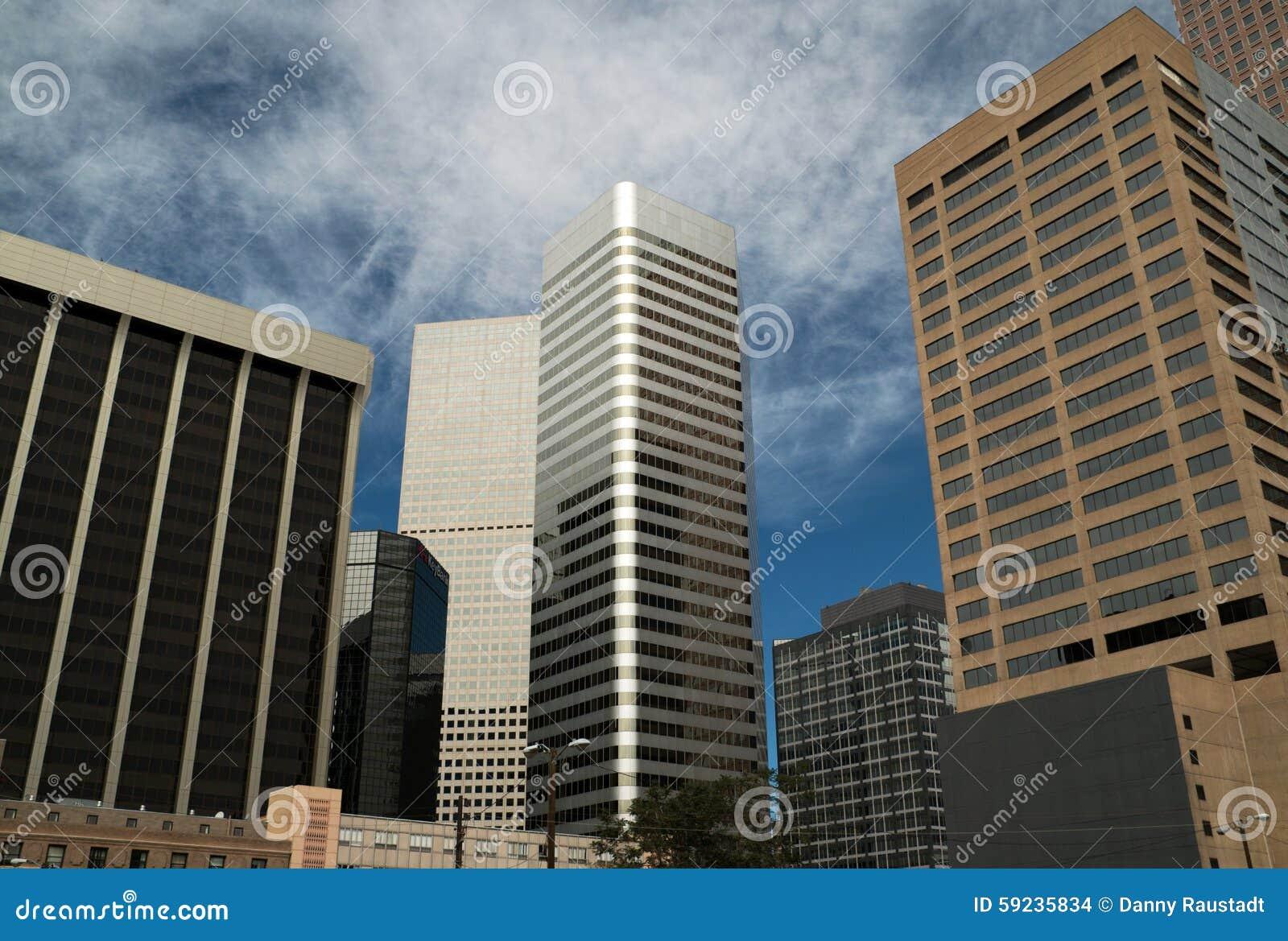 Download Edificios Modernos Céntricos En Denver, Colorado Foto de archivo - Imagen de arquitecto, historia: 59235834