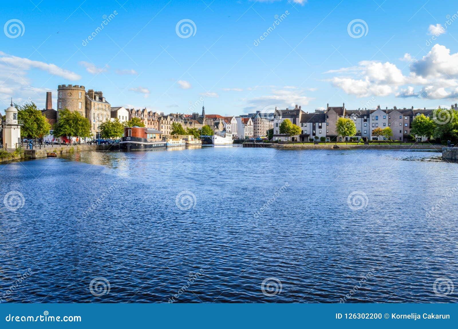 Edimburgo, Scozia - la riva