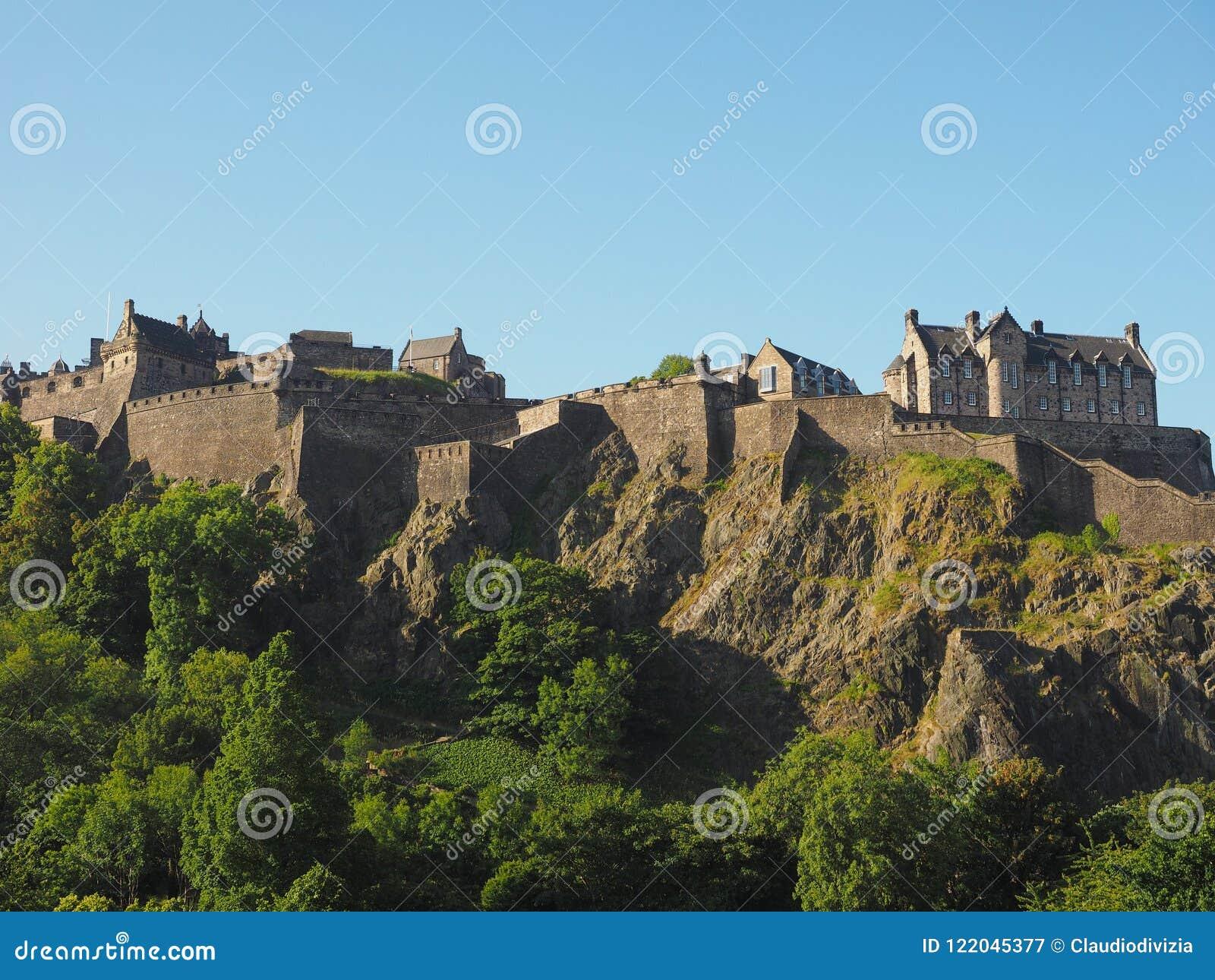 Edinburgh-Schloss in Schottland
