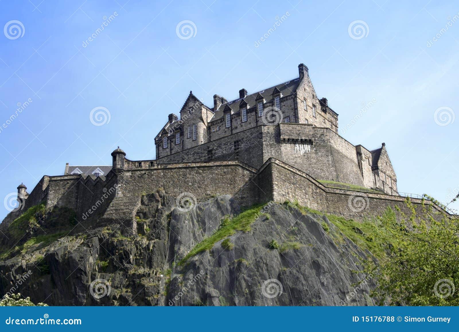 Edinburgh-Schloss Schottland