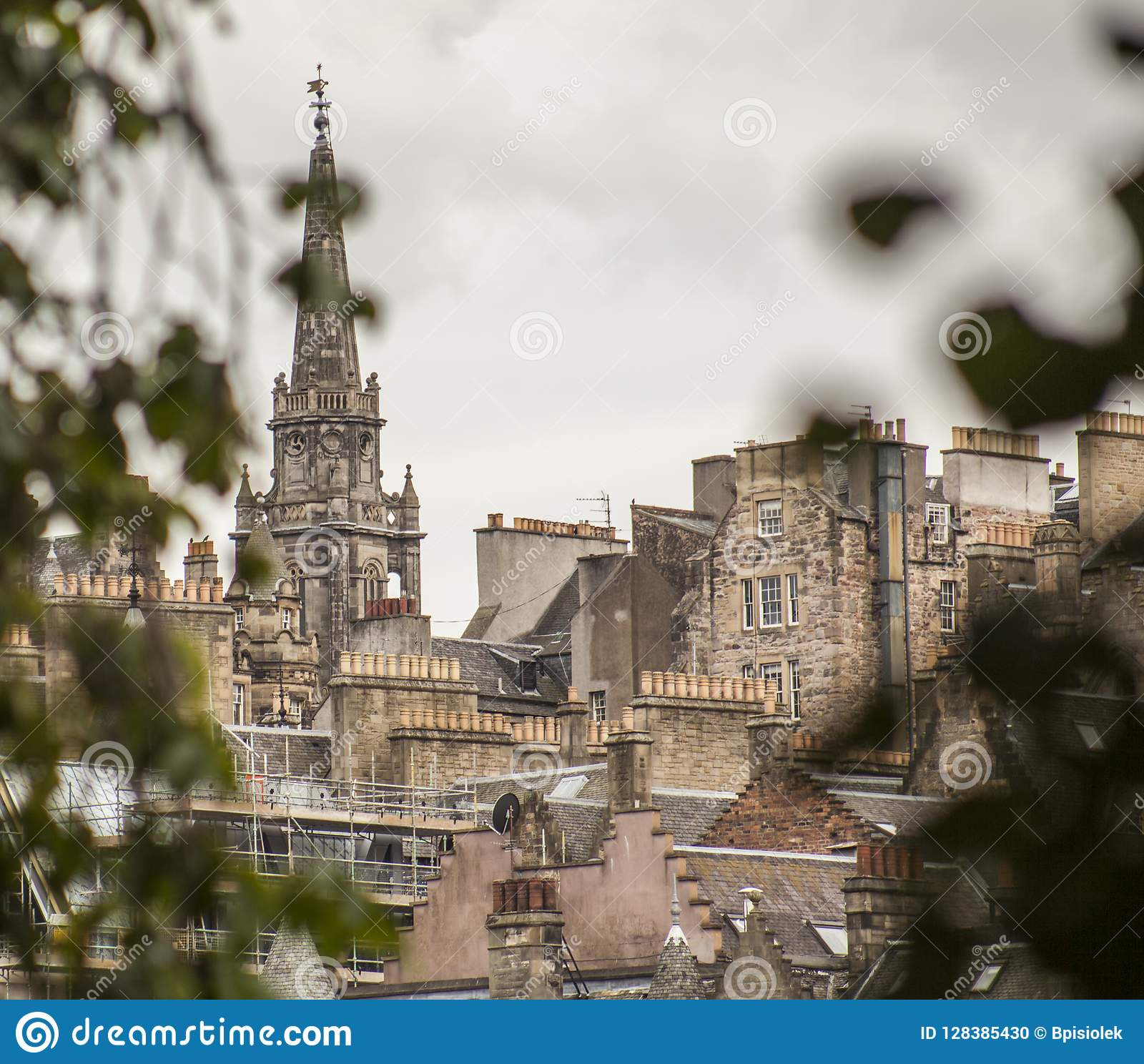 Edinburgh, Schotland - het centrum