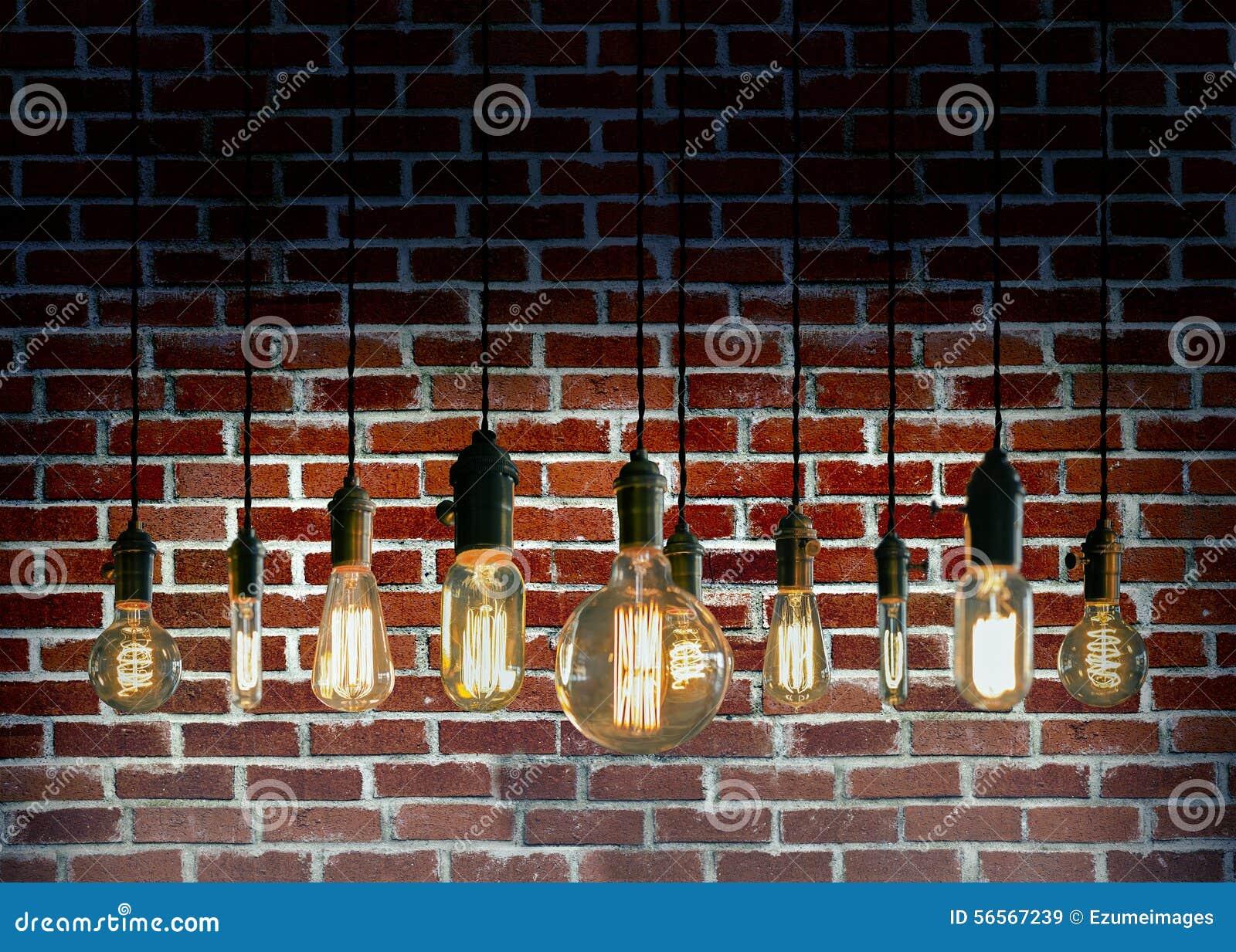 Download Edison Lightbulbs στοκ εικόνα. εικόνα από κηροπήγια, σκέψεις - 56567239