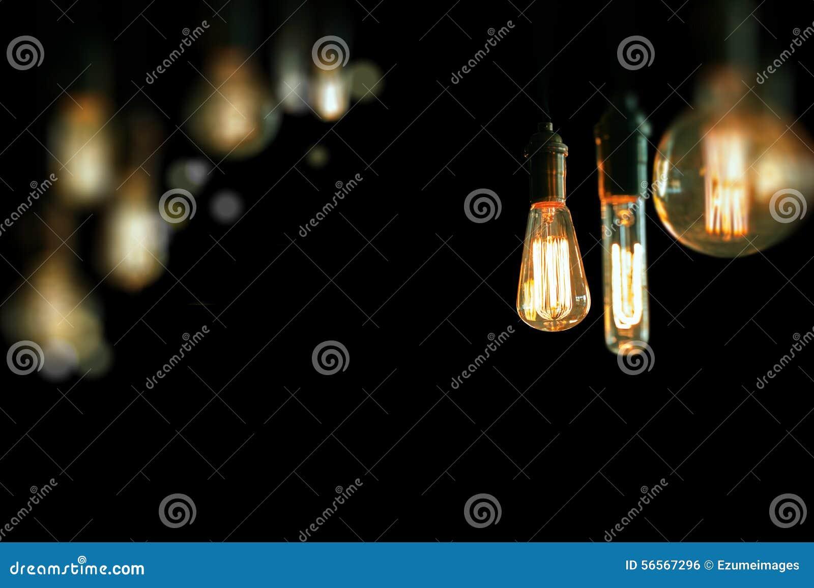Download Edison Lightbulbs στοκ εικόνες. εικόνα από κύκλος, κηροπήγια - 56567296