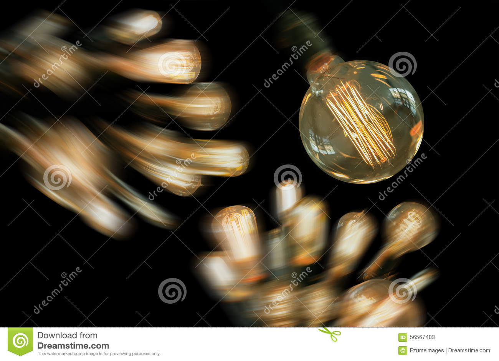 Download Edison Lightbulbs στοκ εικόνα. εικόνα από αρχικός, πυράκτωση - 56567403