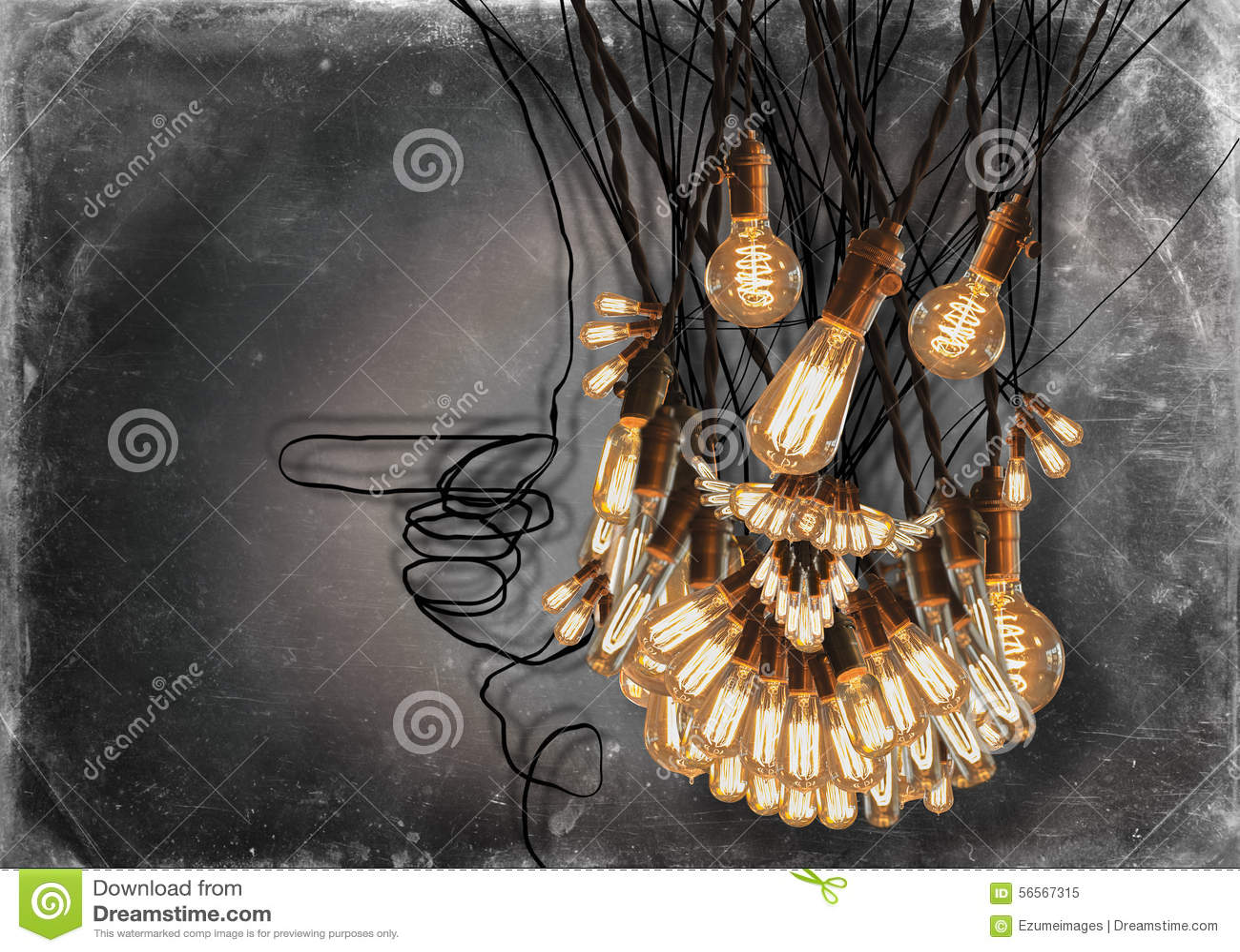 Download Edison Lightbulbs Beard στοκ εικόνα. εικόνα από φω, έξυπνο - 56567315