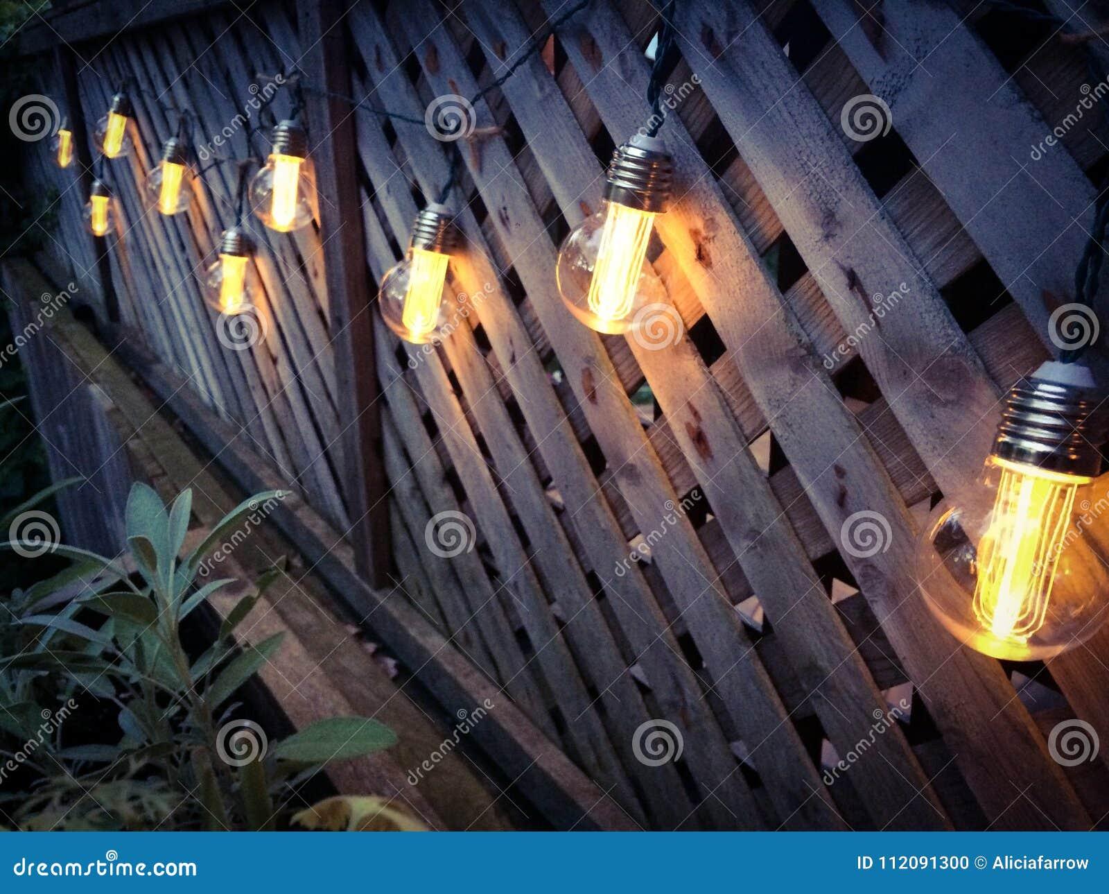 Edison Style Patio Lights