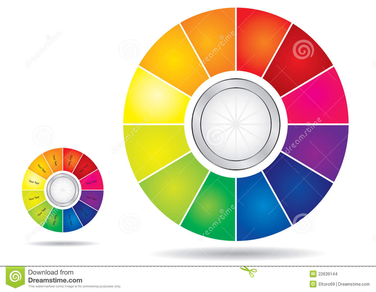 editable color wheel template - Color Template