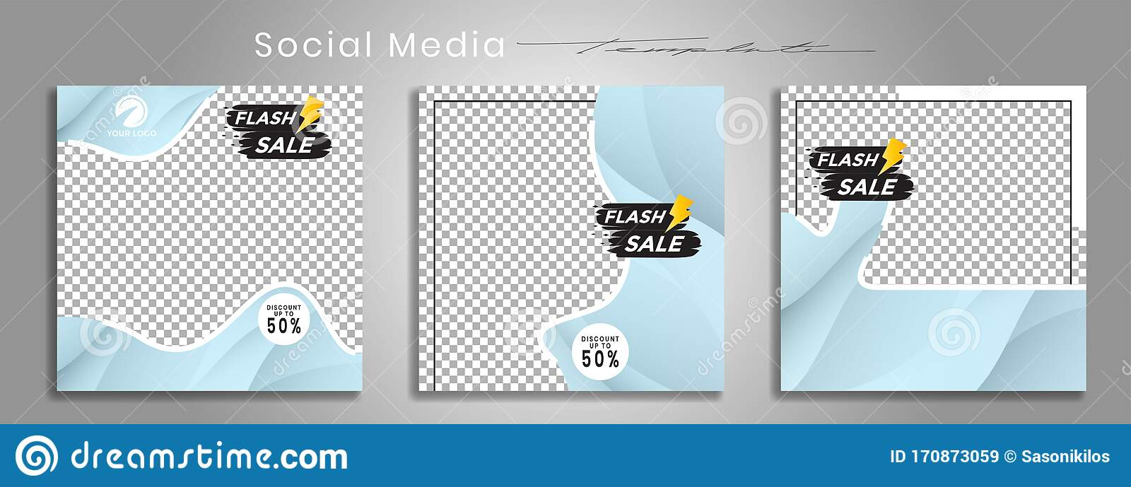 Editable Social Media Templates Instagram Story Collections And Post Frame Templates Layout Designs Mockups For Marketing Stock Vector Illustration Of Memphis Post 170873059