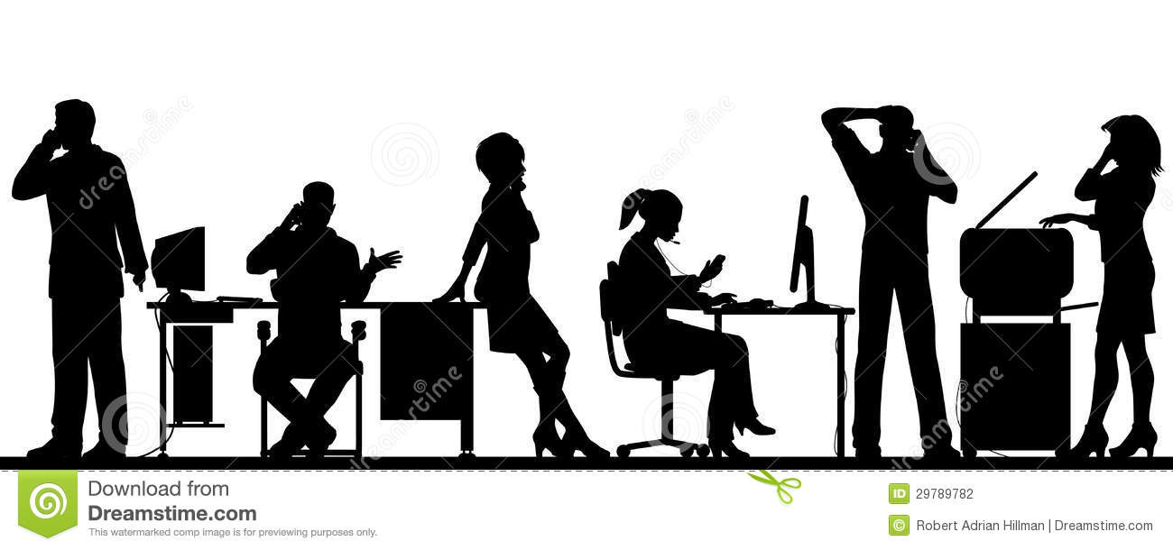 Cellphone Office Stock Photography Image 29789782