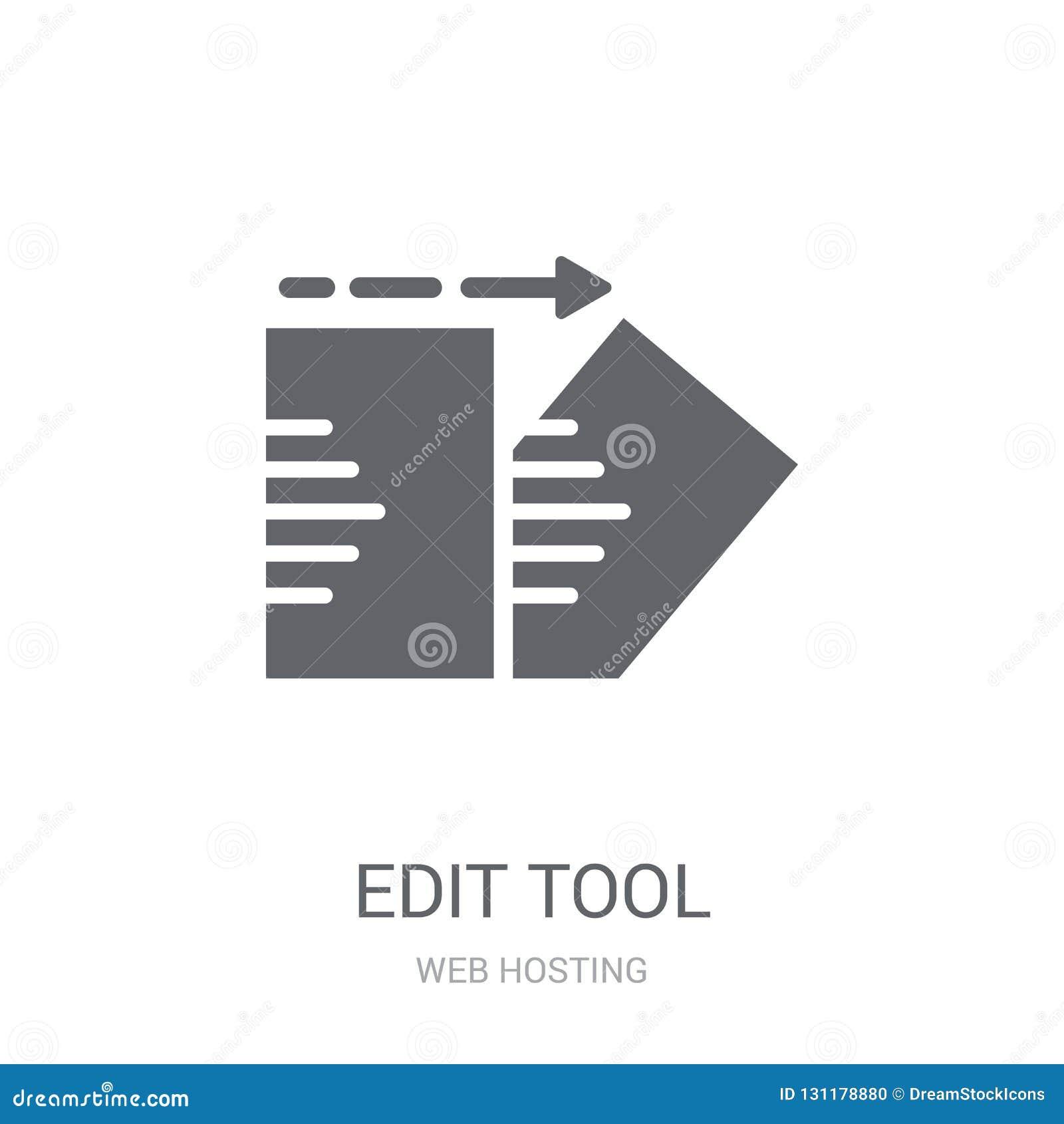 Edite o ícone da ferramenta