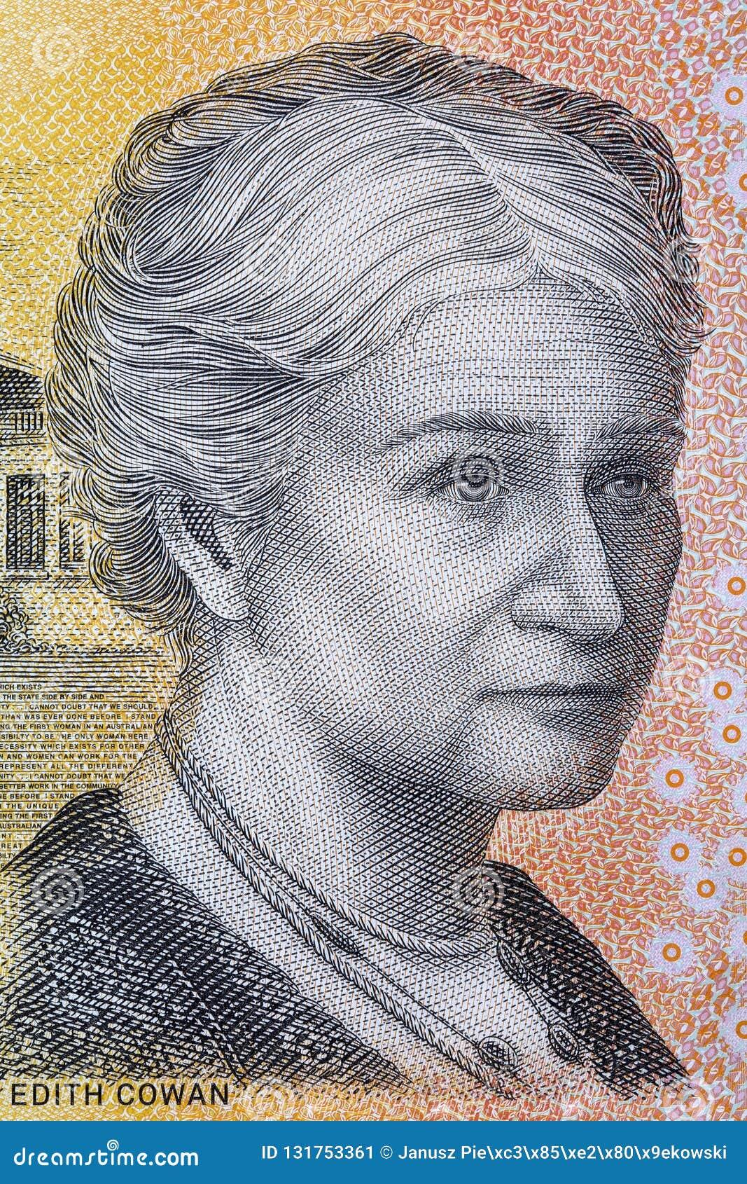 Edith Cowan een portret