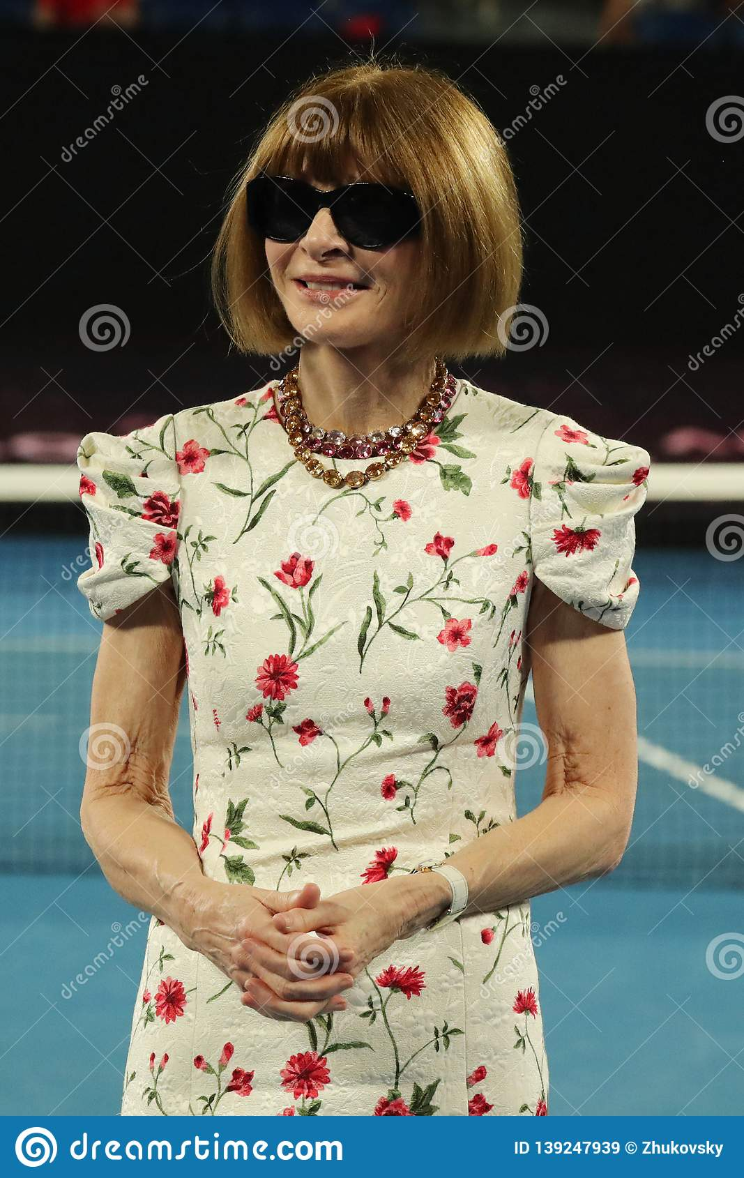 Editor-in-chief Of Vogue Magazine Anna Wintour Honored At The 2019 ... f92af529d0