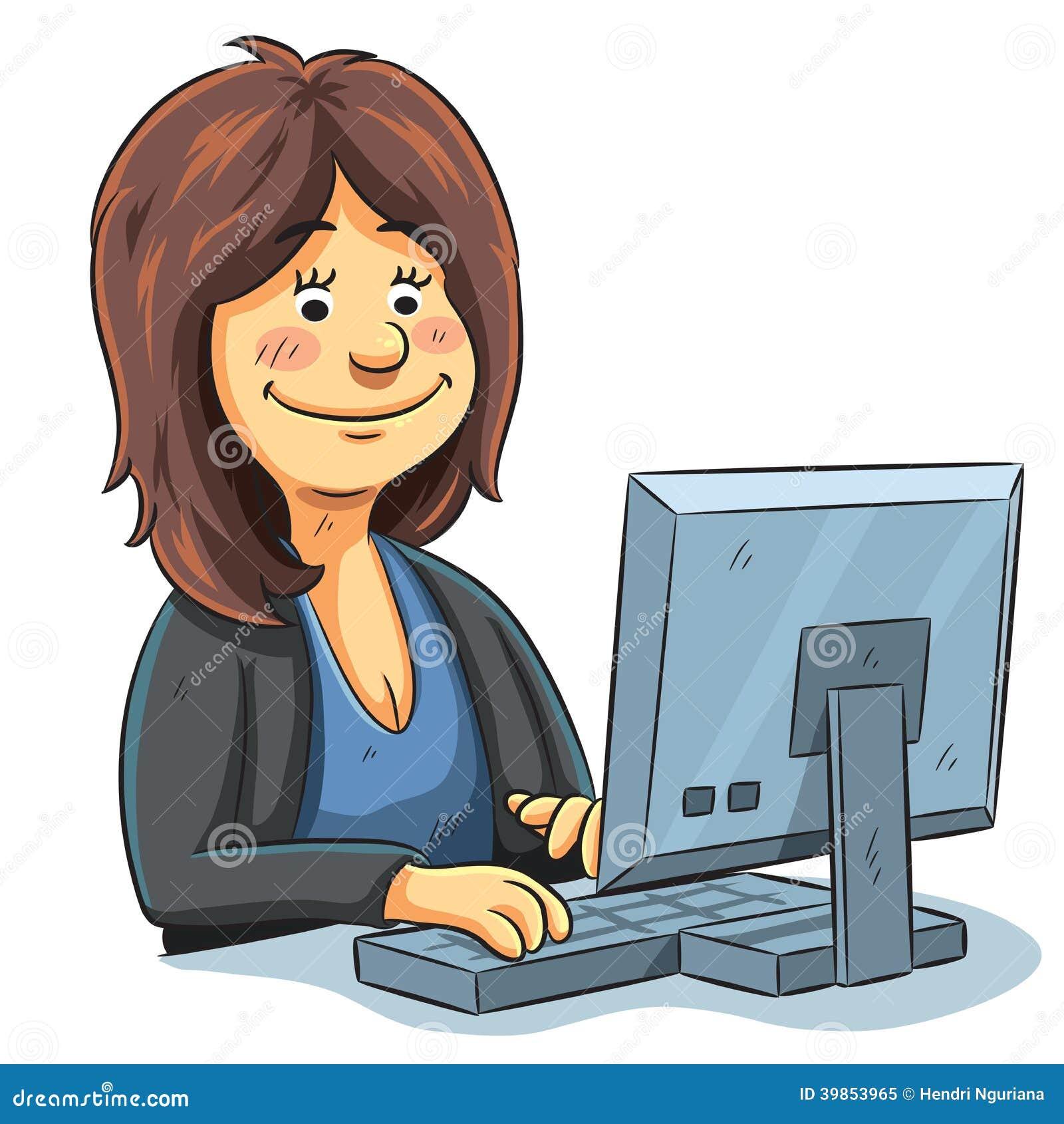 Editor Working Stock Vector Image 39853965