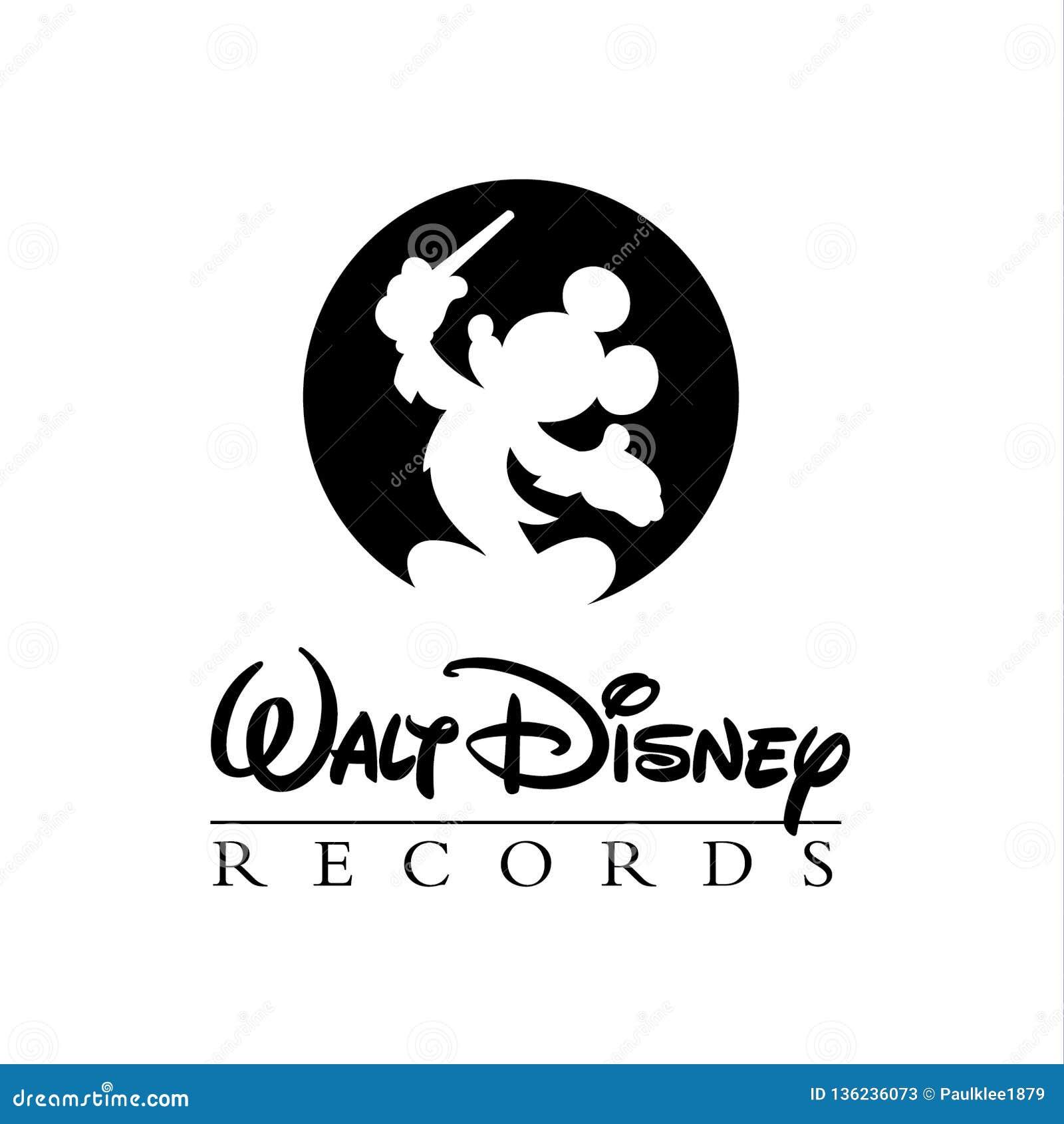 Editorial do logotipo de Walt Disney
