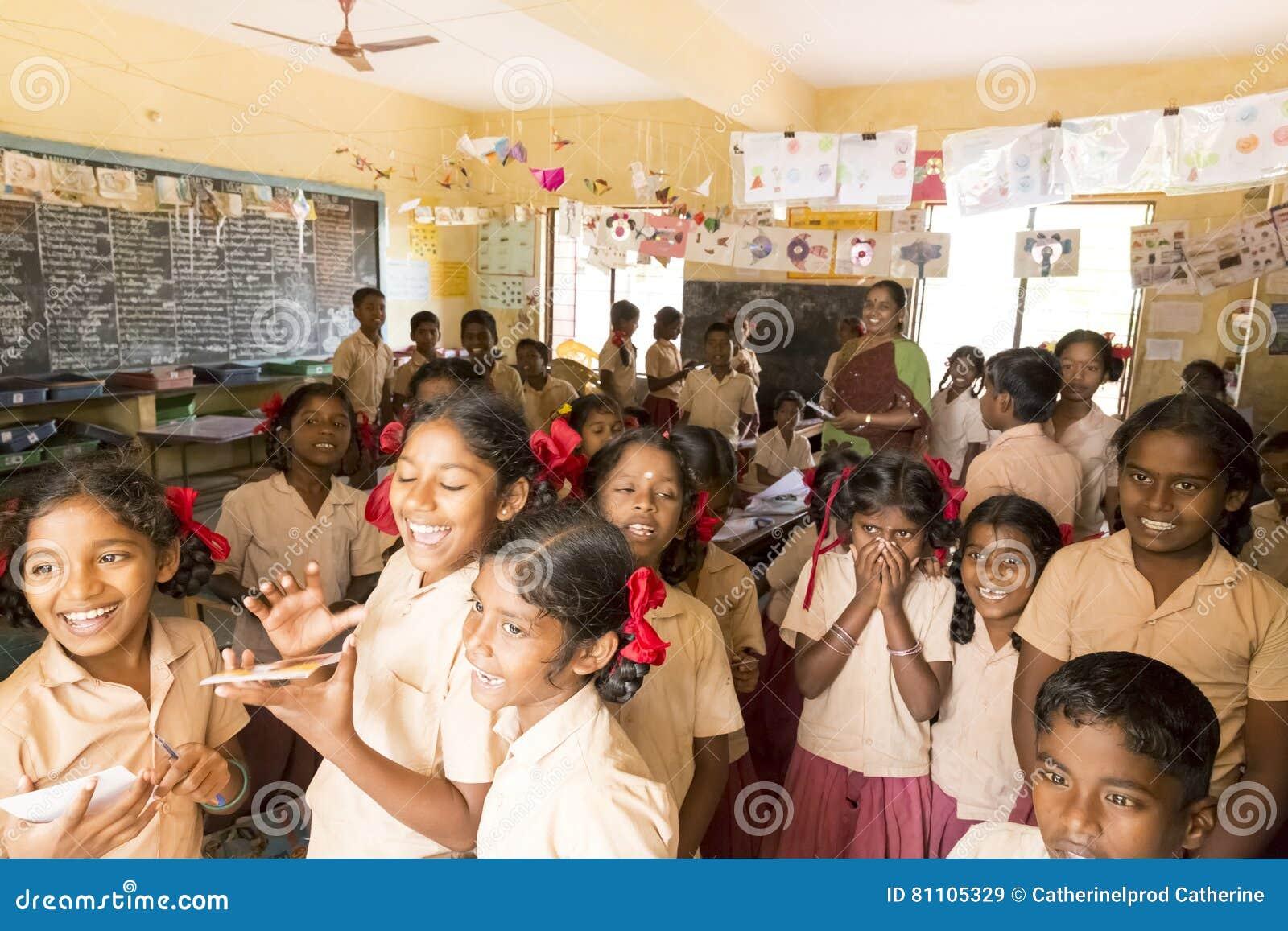 Closeup Of Poor Indian Children Girls Editorial Image -8550