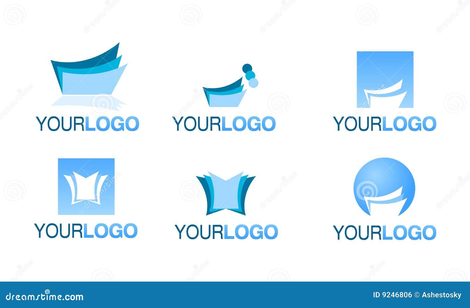 Book logos stock vector image 42714029 - Editorial Financial Logo Vector Set Royalty Free Stock Image