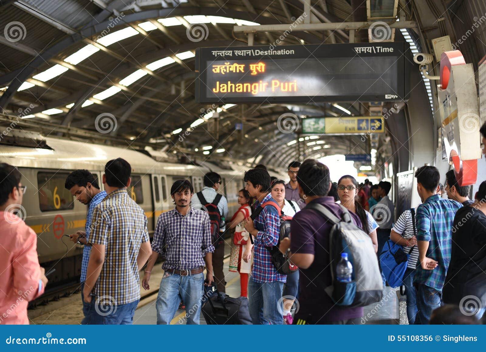 Editorial: Gurgaon, Delhi, India: 06th June 2015: People ...