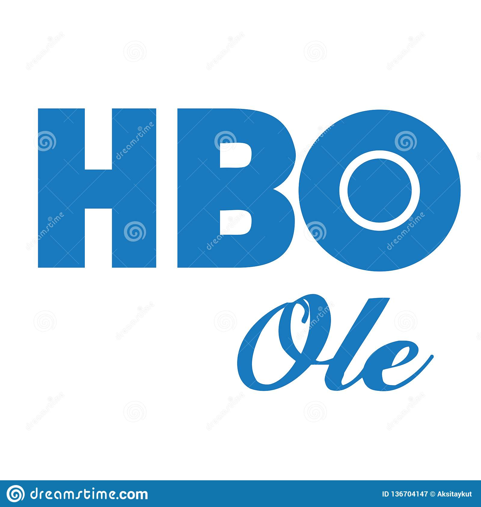 HBO Ole Home Box Office Logo Vector Editorial