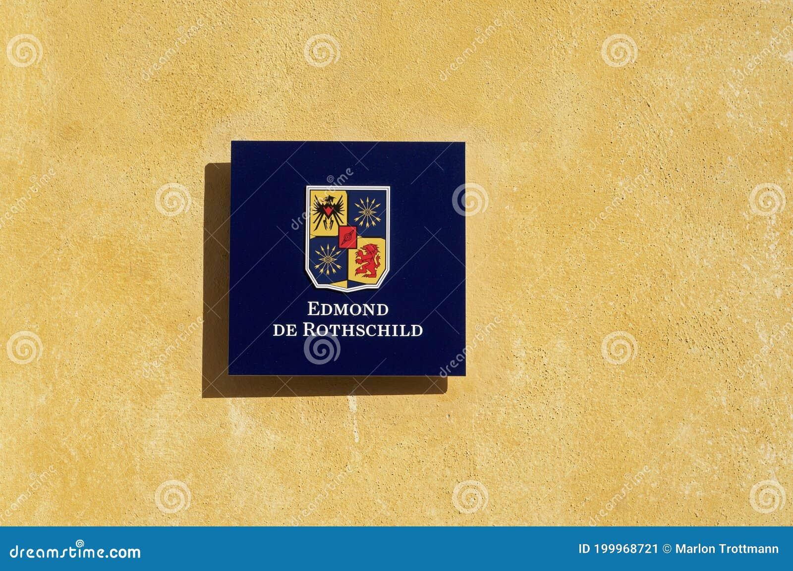 Edmond De Rothschild Bank Group Logo Editorial Photo Image Of Logo Holding 199968721