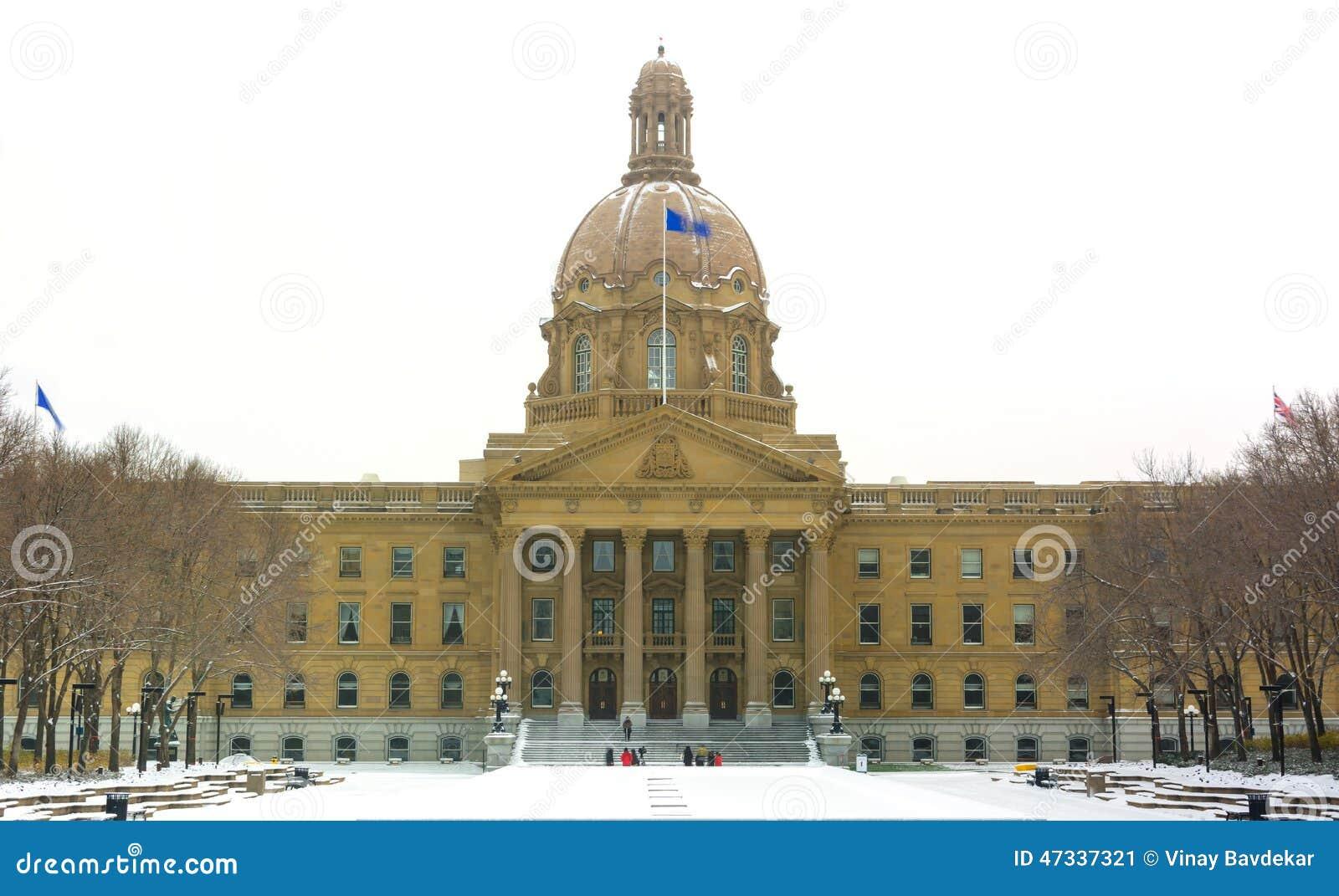 Edmonton, ab, Canada le 8 novembre 2014 : Buildi de législature d Alberta