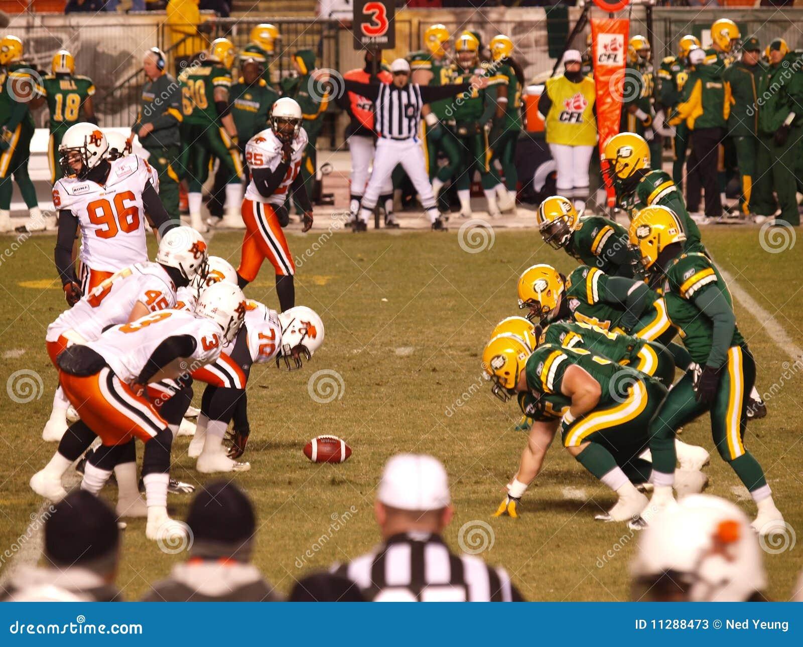 Edmonton Eskimos vs. B.C. Lions 1