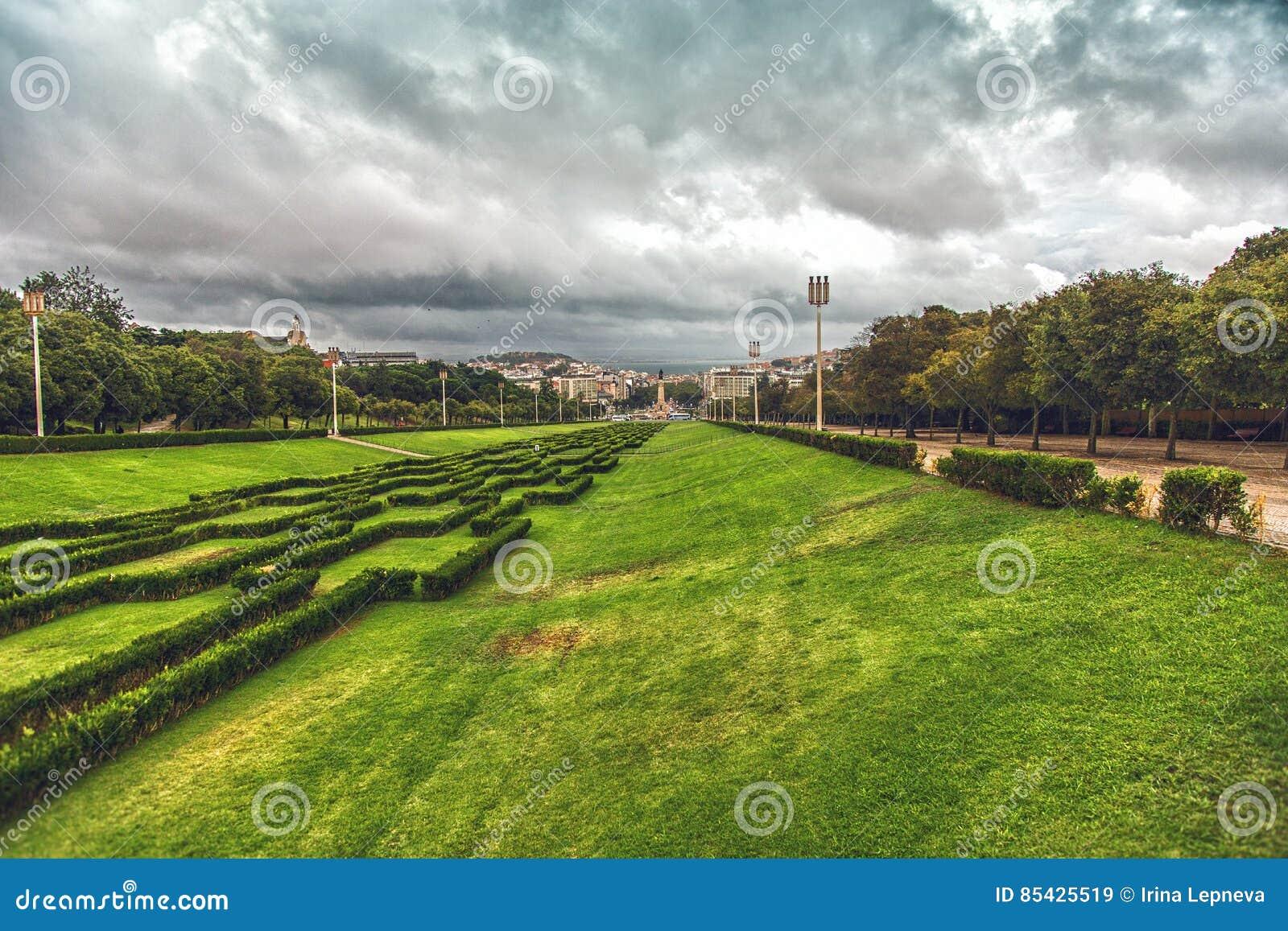 Eduardo VII πάρκο στη Λισσαβώνα