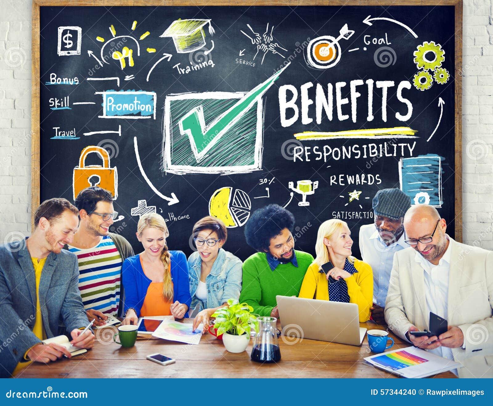 Educación de la renta de la ganancia del beneficio del aumento de las ventajas que aprende concepto