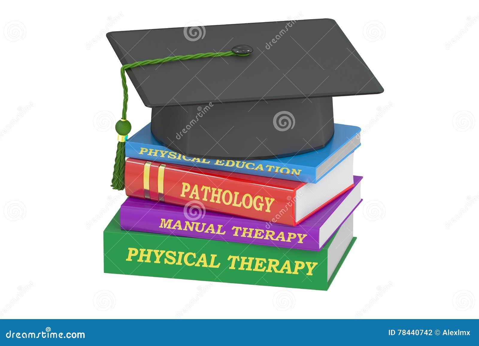 Educación de la terapia física, representación 3D