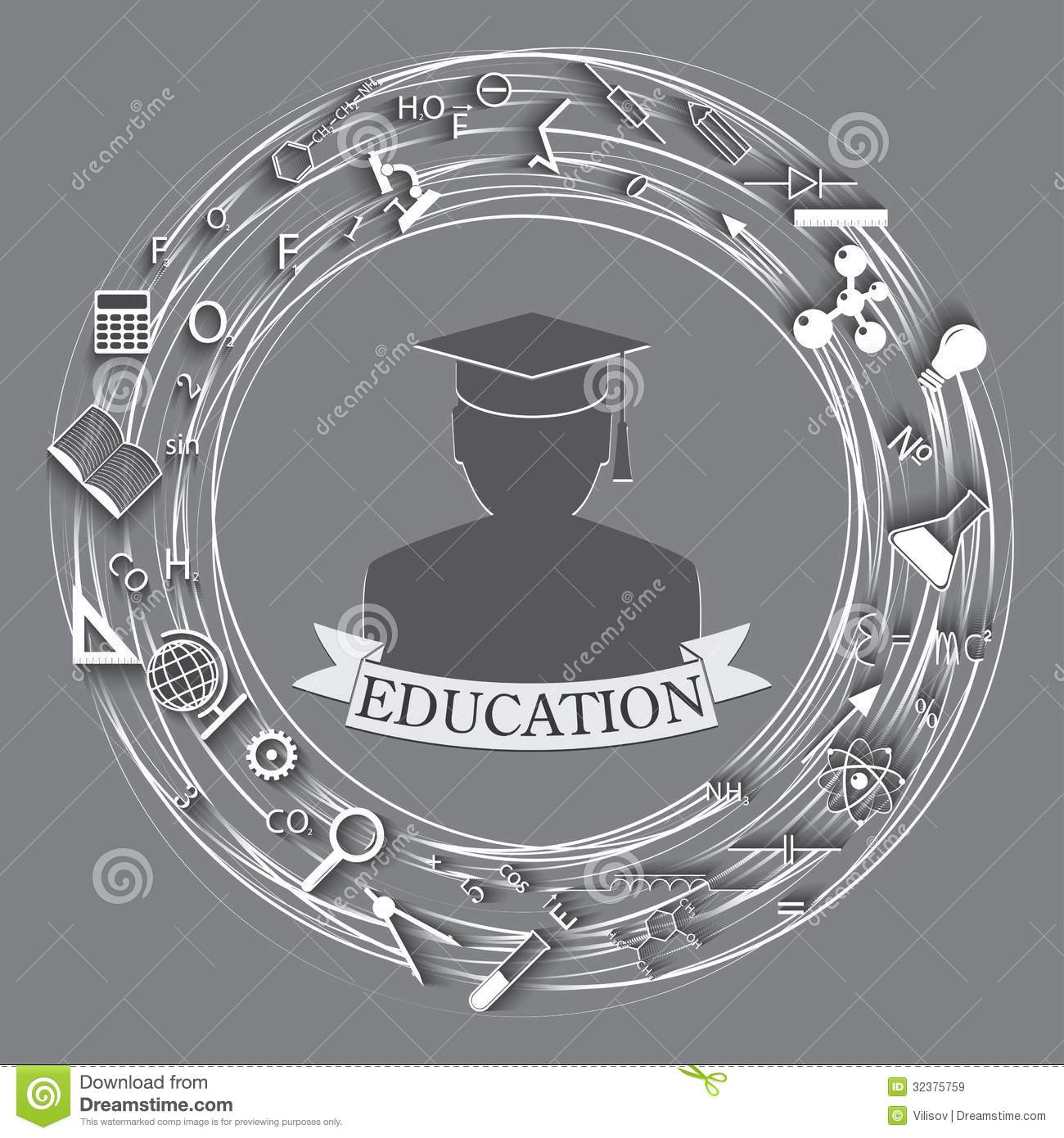 Education Abstract Background Royalty Free Stock Images ...